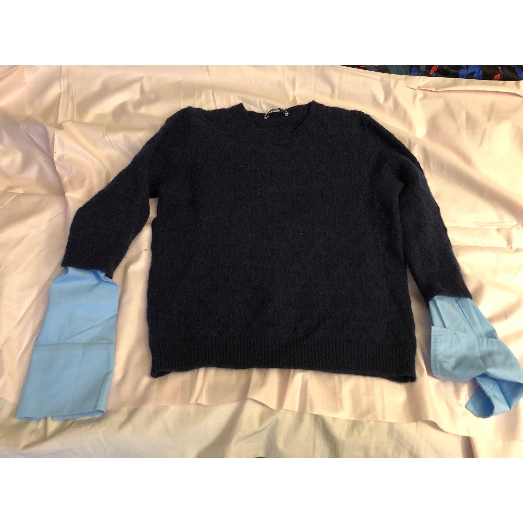 Pull LES PETITES... Bleu, bleu marine, bleu turquoise