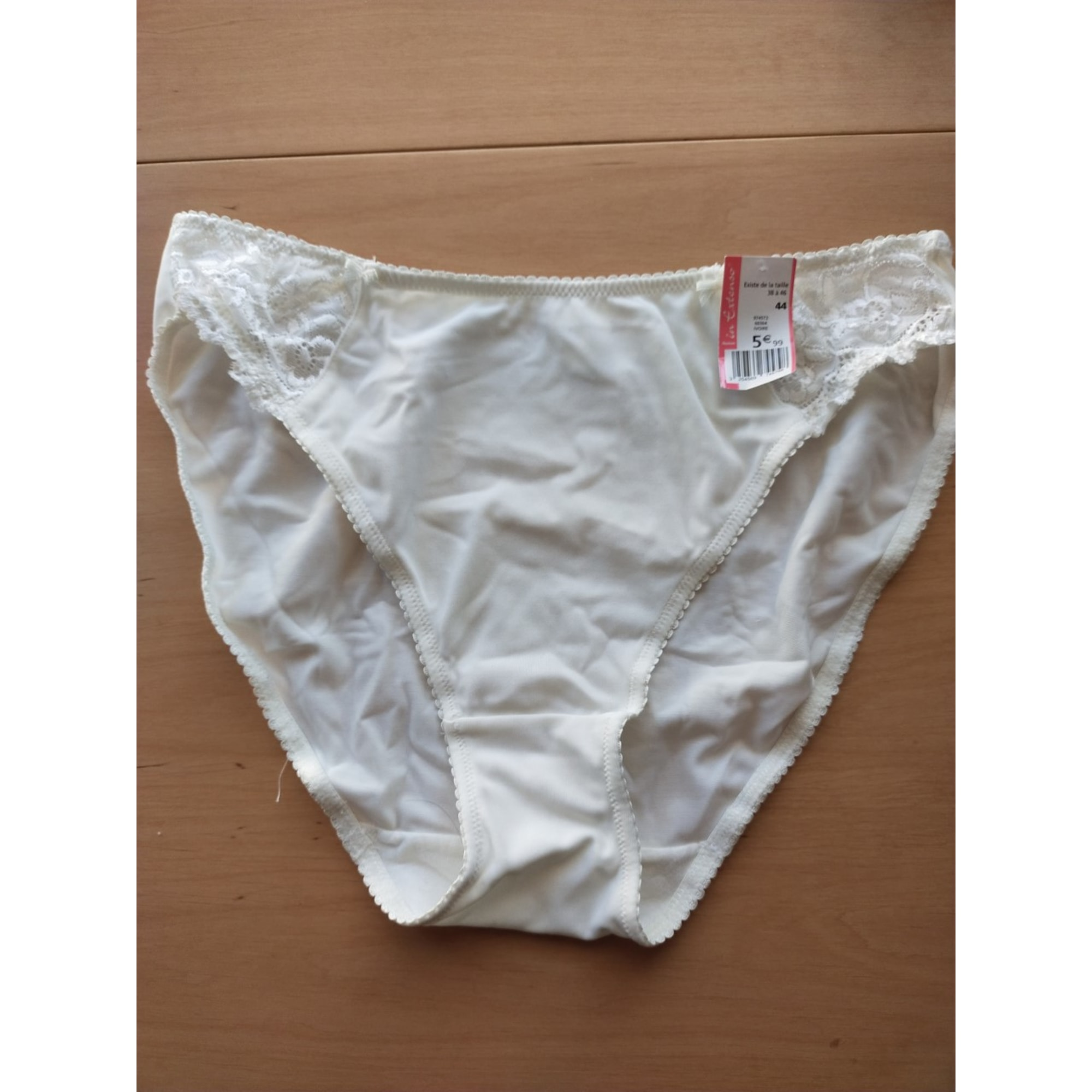 Culotte IN EXTENSO Blanc, blanc cassé, écru