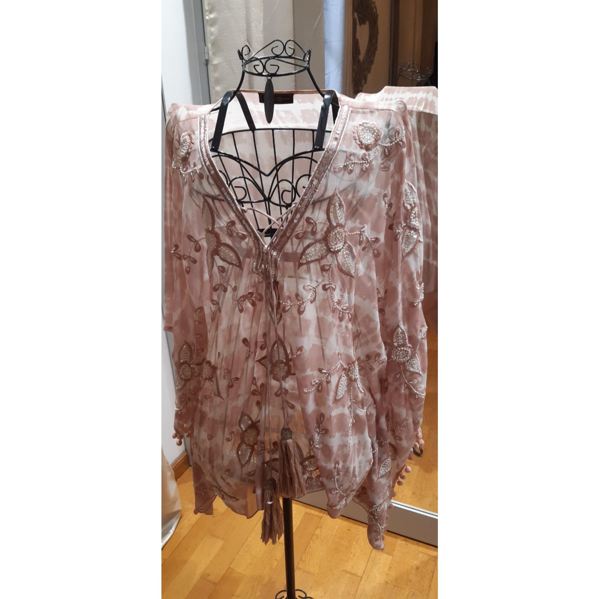 Robe tunique MARQUE INCONNUE Rose, fuschia, vieux rose