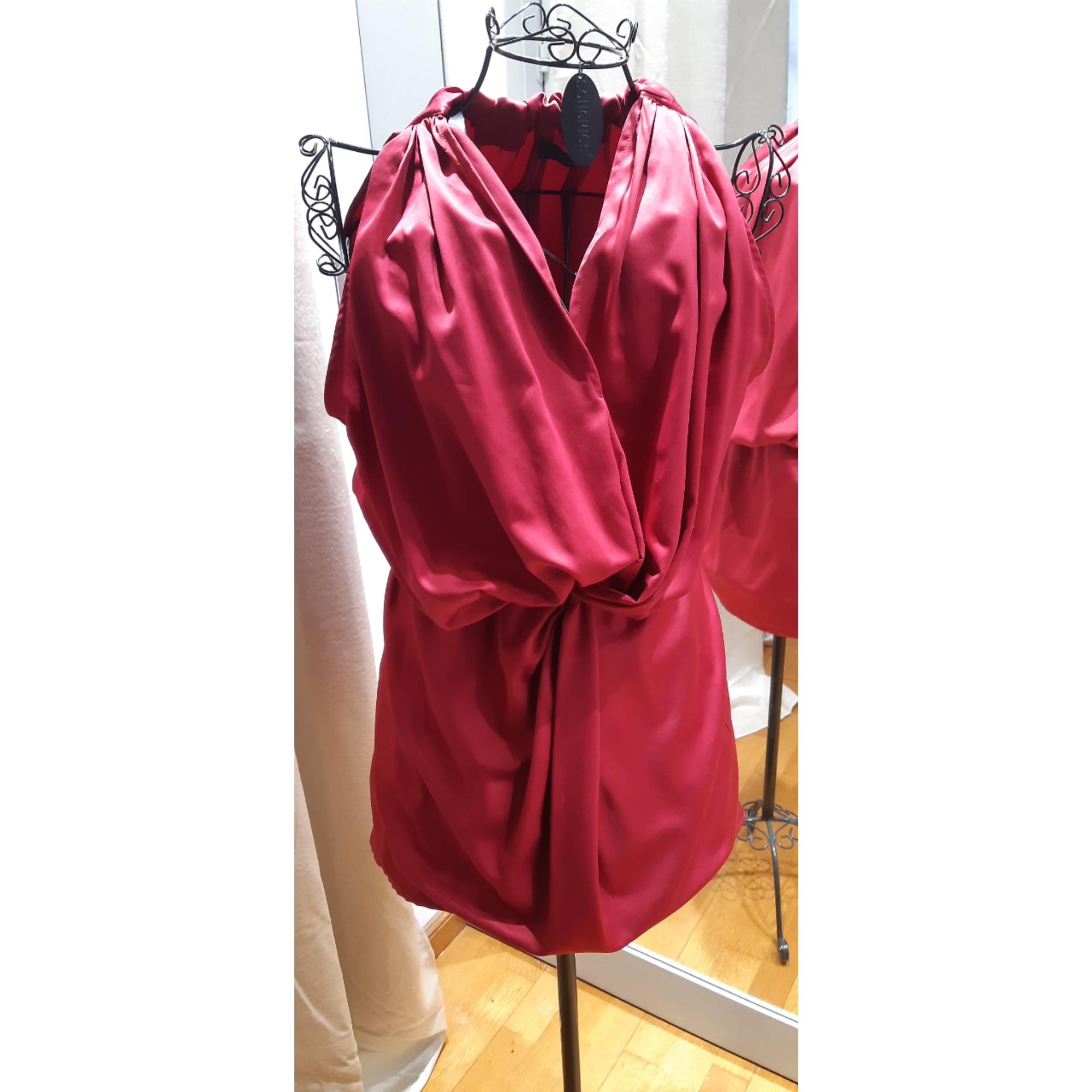 Robe courte LUI JO Rose, fuschia, vieux rose