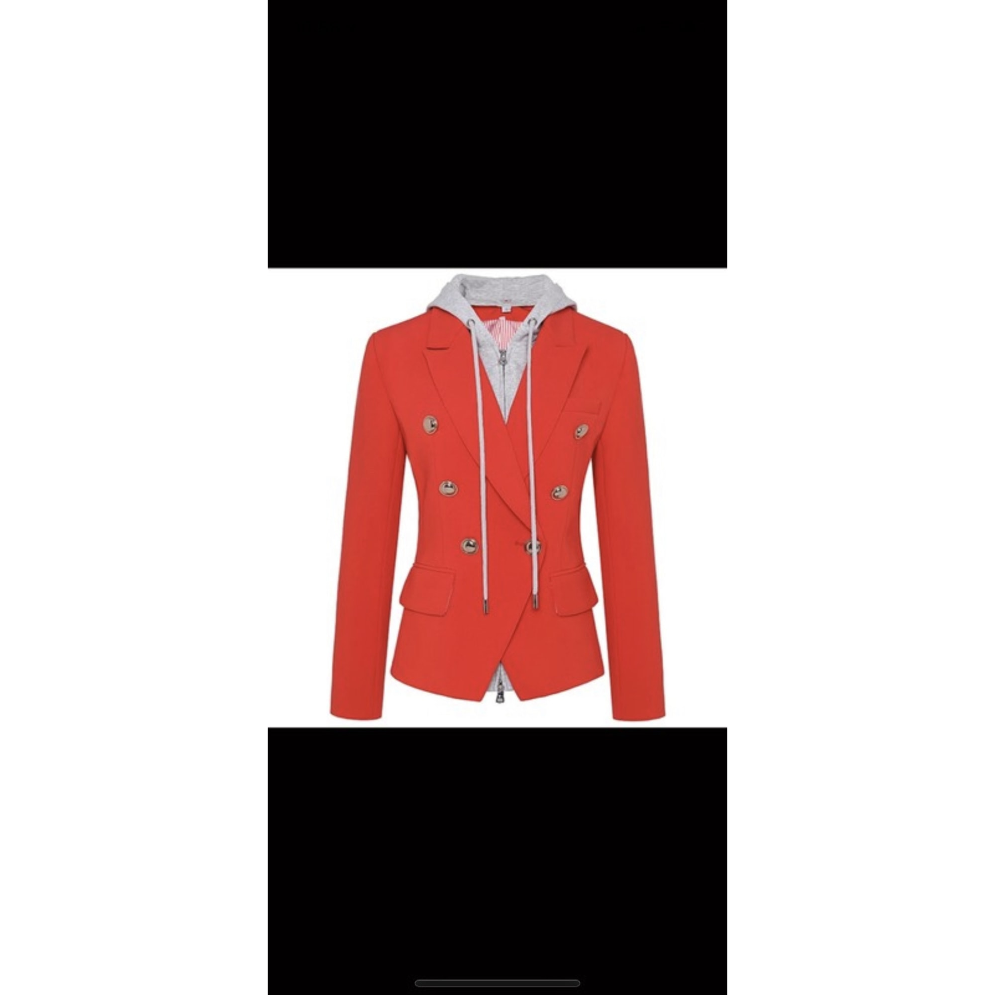 Blazer, veste tailleur SANS MARQUE Orange