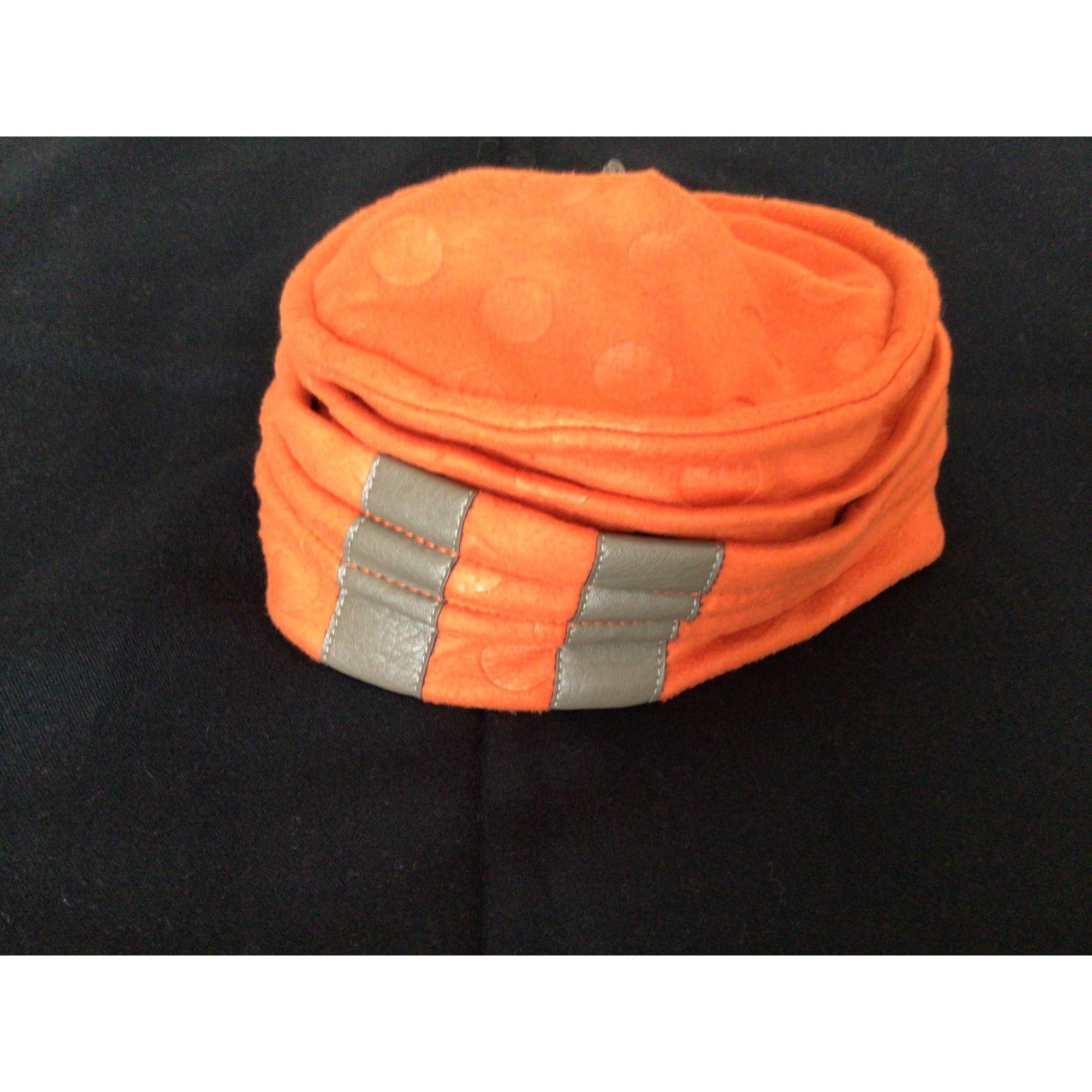 Bonnet INCONNUE Orange