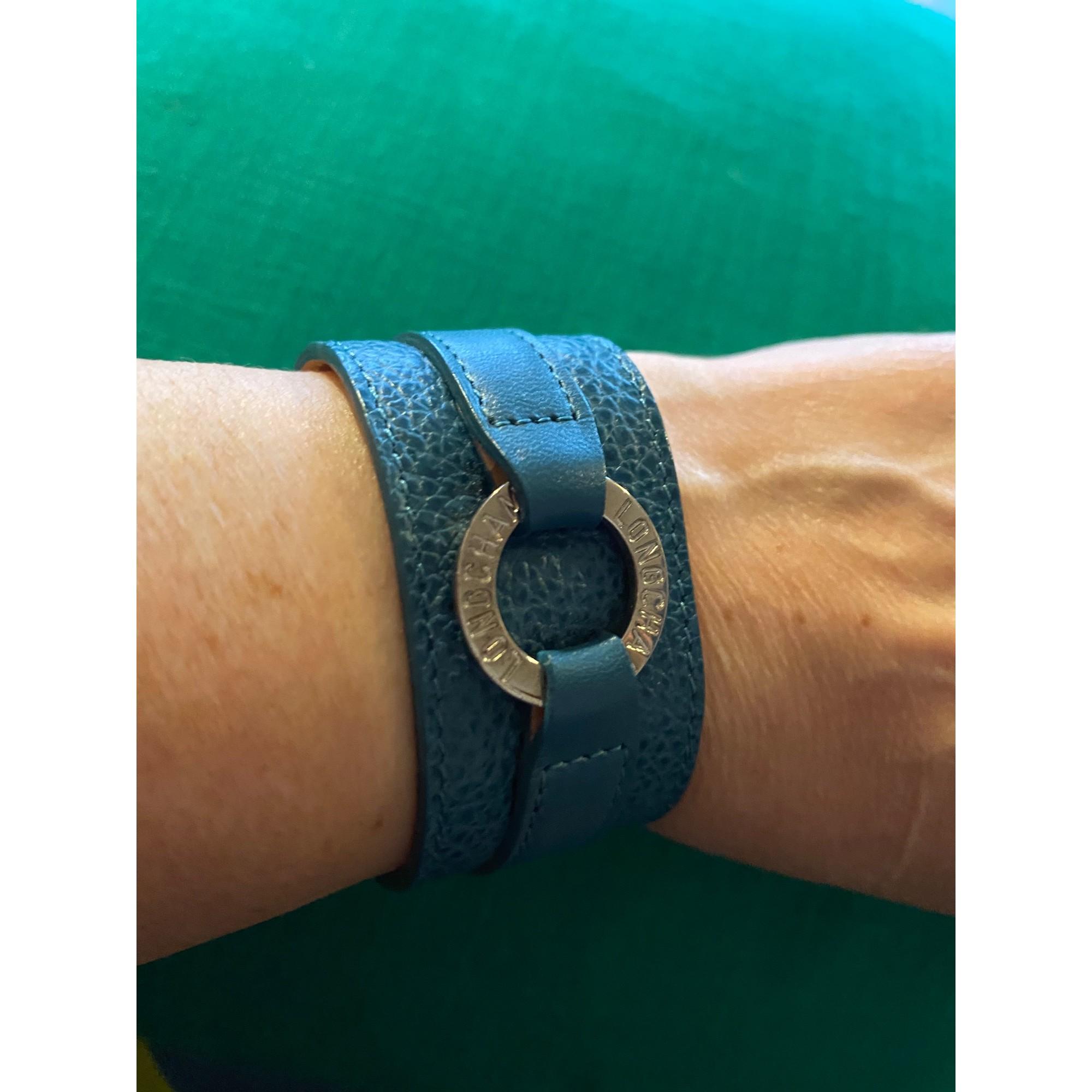 Bracelet LONGCHAMP Bleu canard turquoise