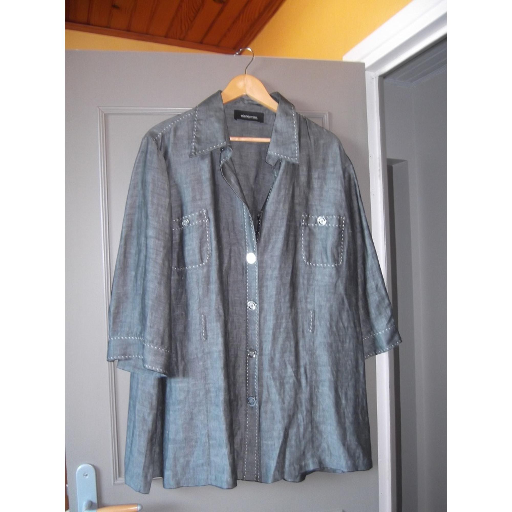 Blazer, veste tailleur ELENA MIRO Gris, anthracite