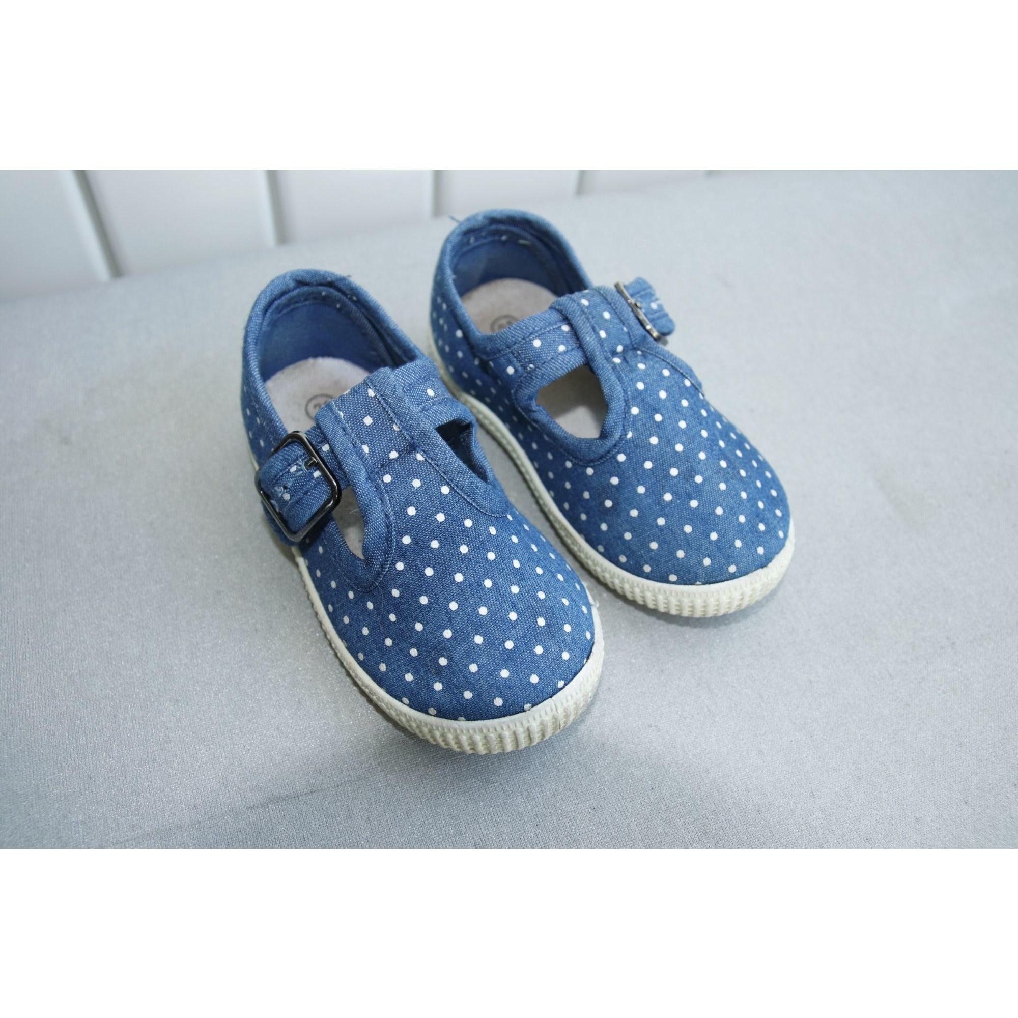 Chaussures à boucle PAT ET RIPATON Bleu, bleu marine, bleu turquoise