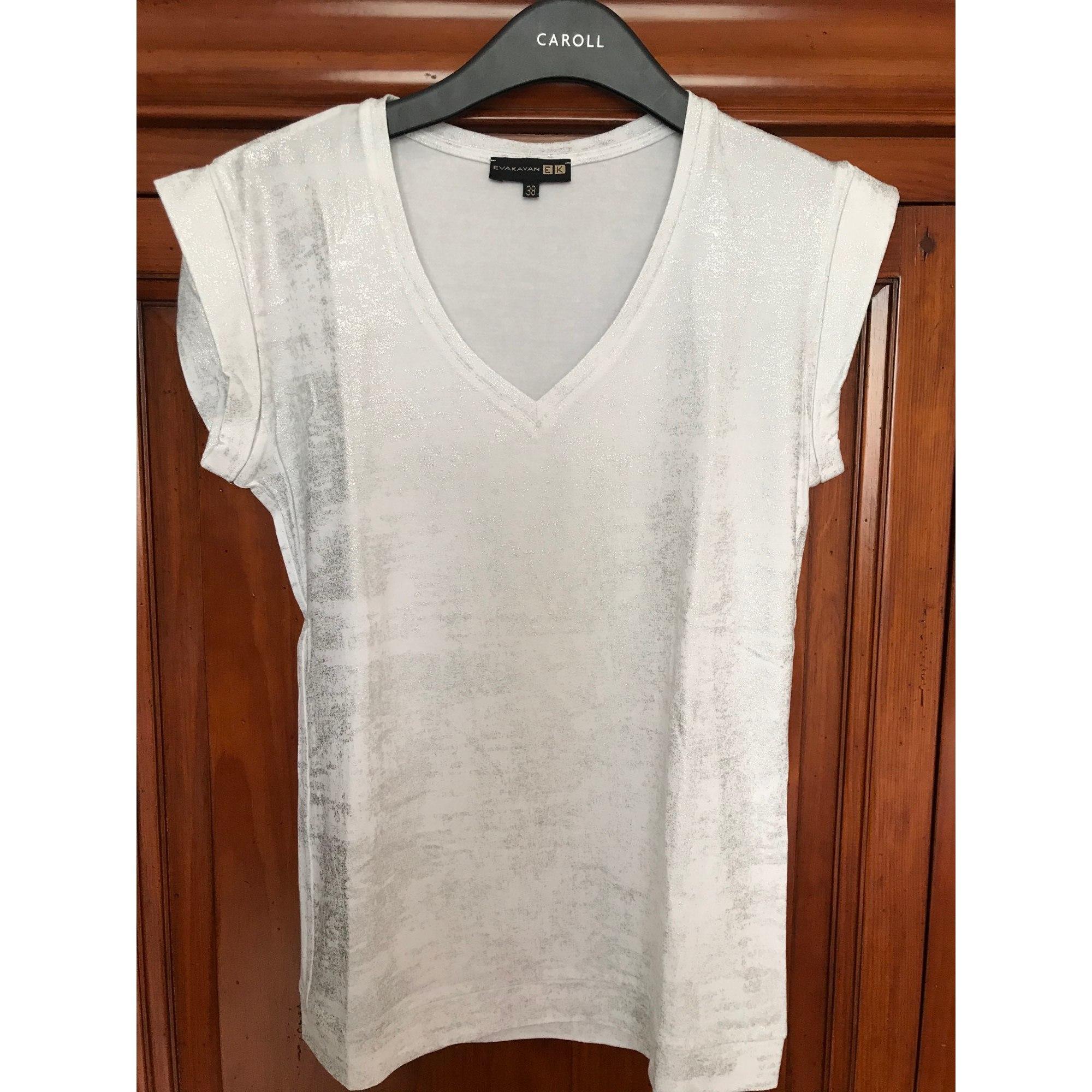 Top, tee-shirt EVA KAYAN Blanc, blanc cassé, écru