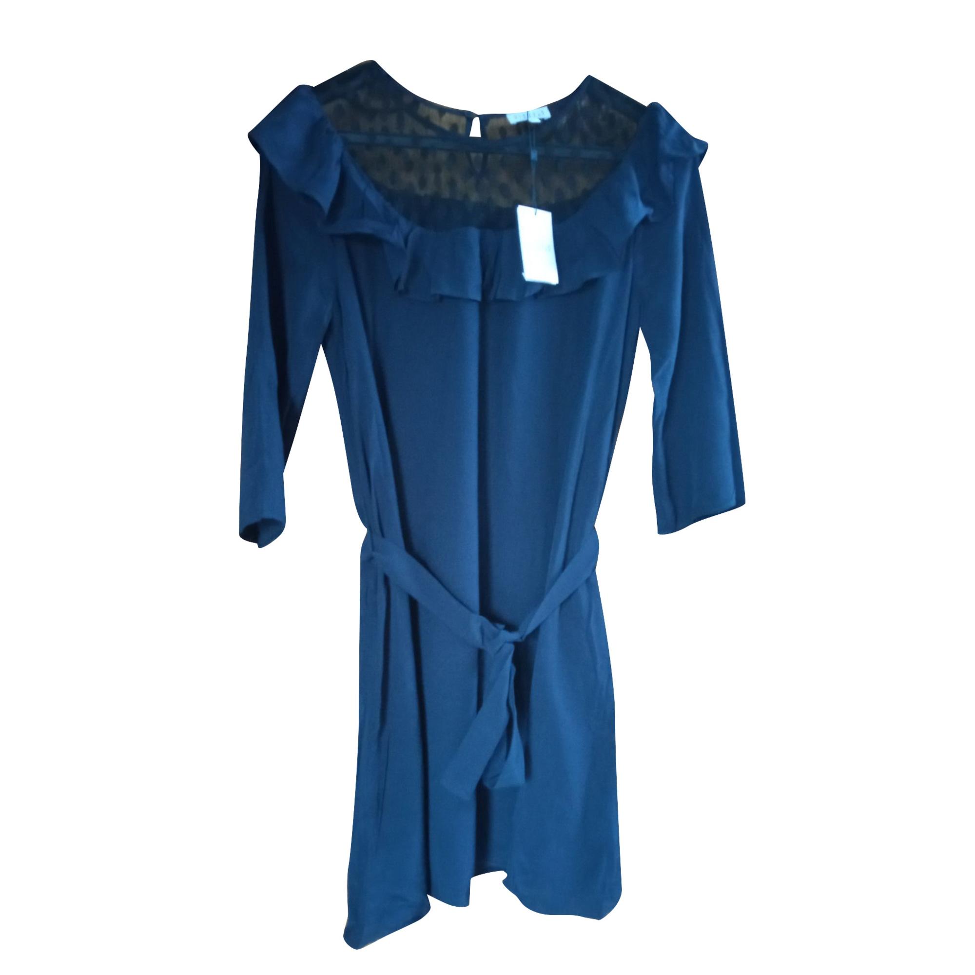 Robe mi-longue CLAUDIE PIERLOT Bleu, bleu marine, bleu turquoise