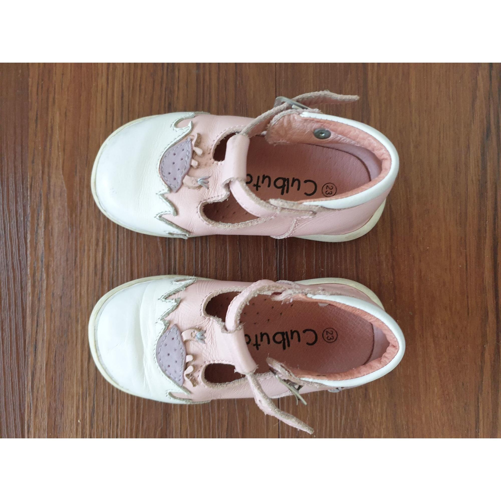 Chaussures à boucle CULBUTO Rose, fuschia, vieux rose