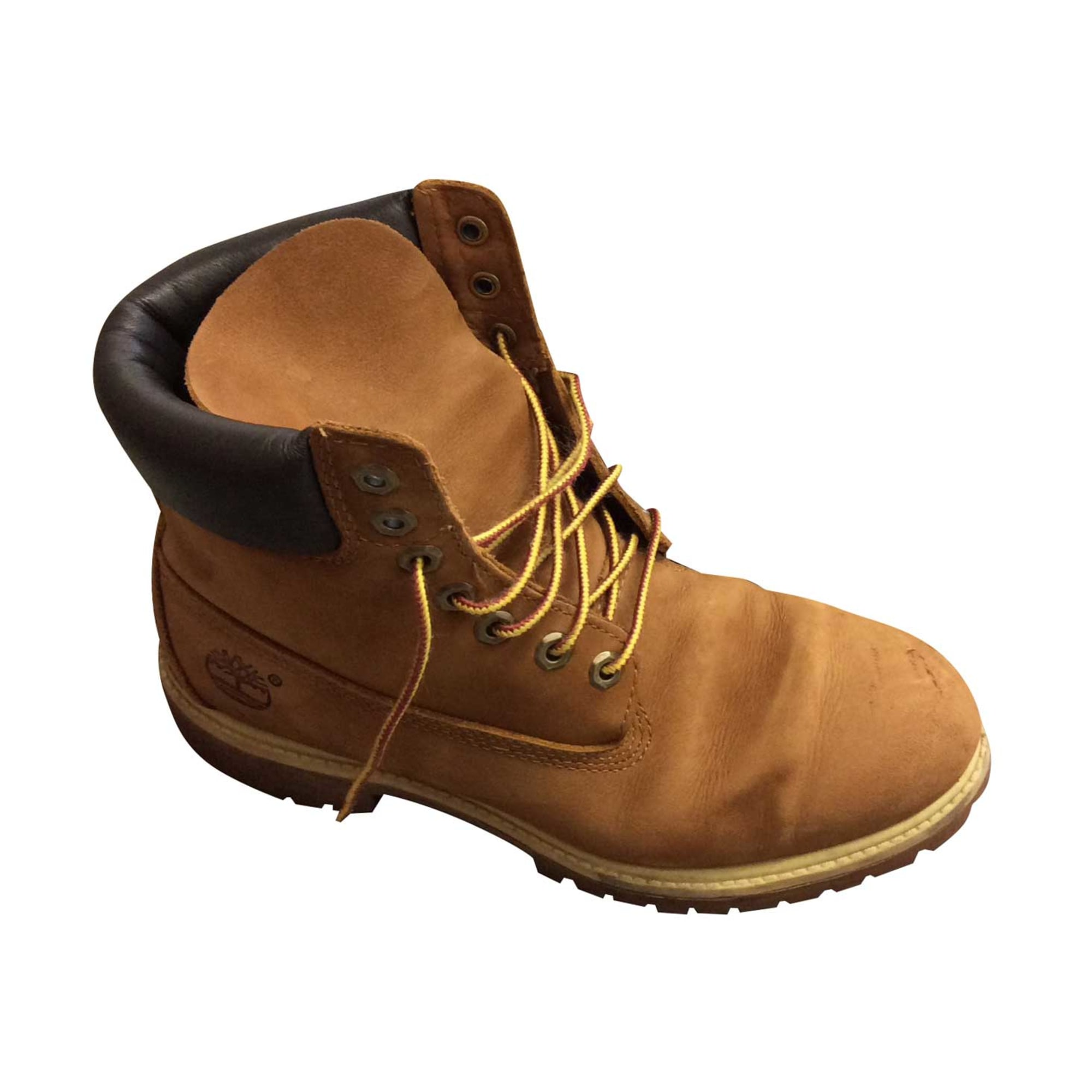 Chaussures à lacets TIMBERLAND Beige, camel