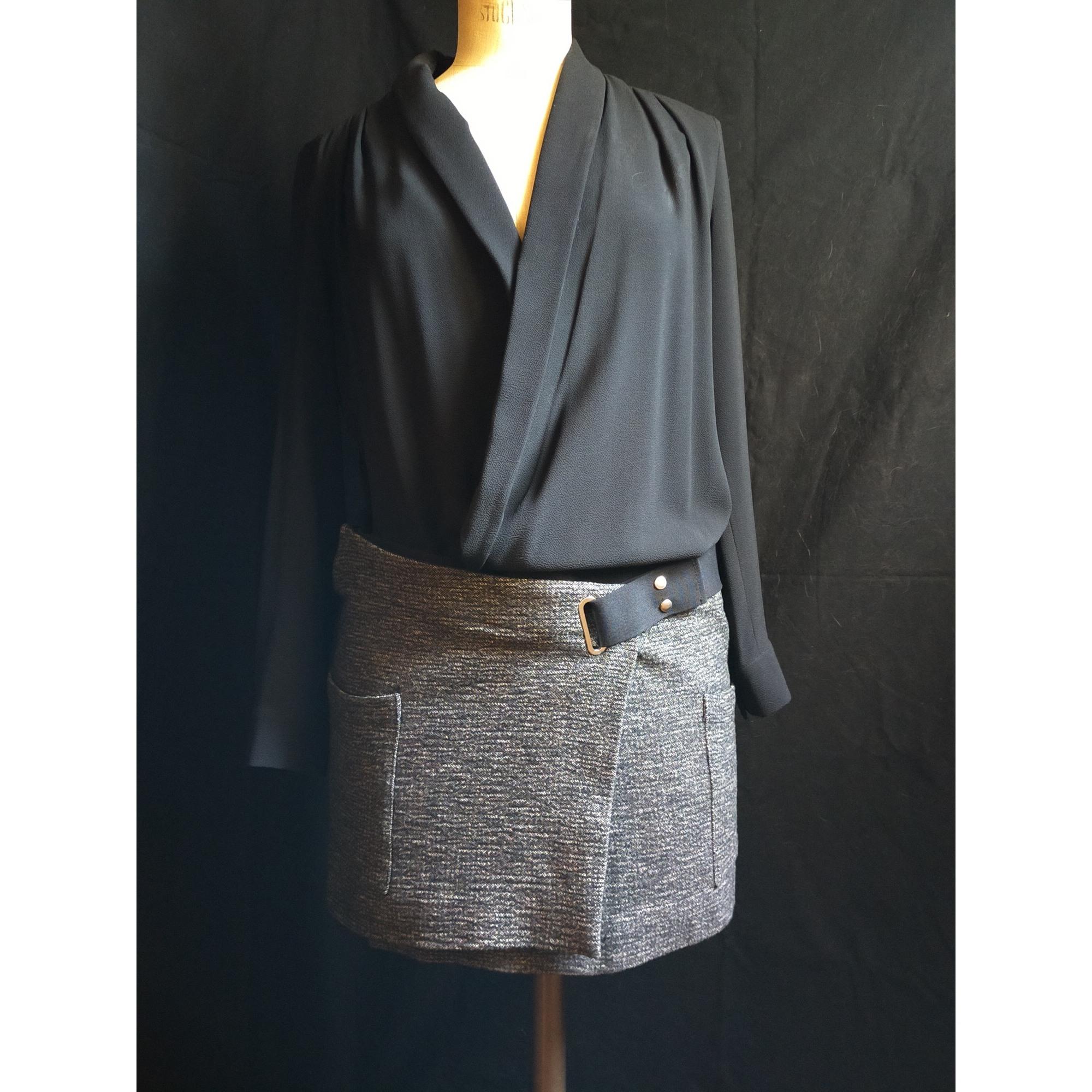 Robe courte BA&SH Multicouleur
