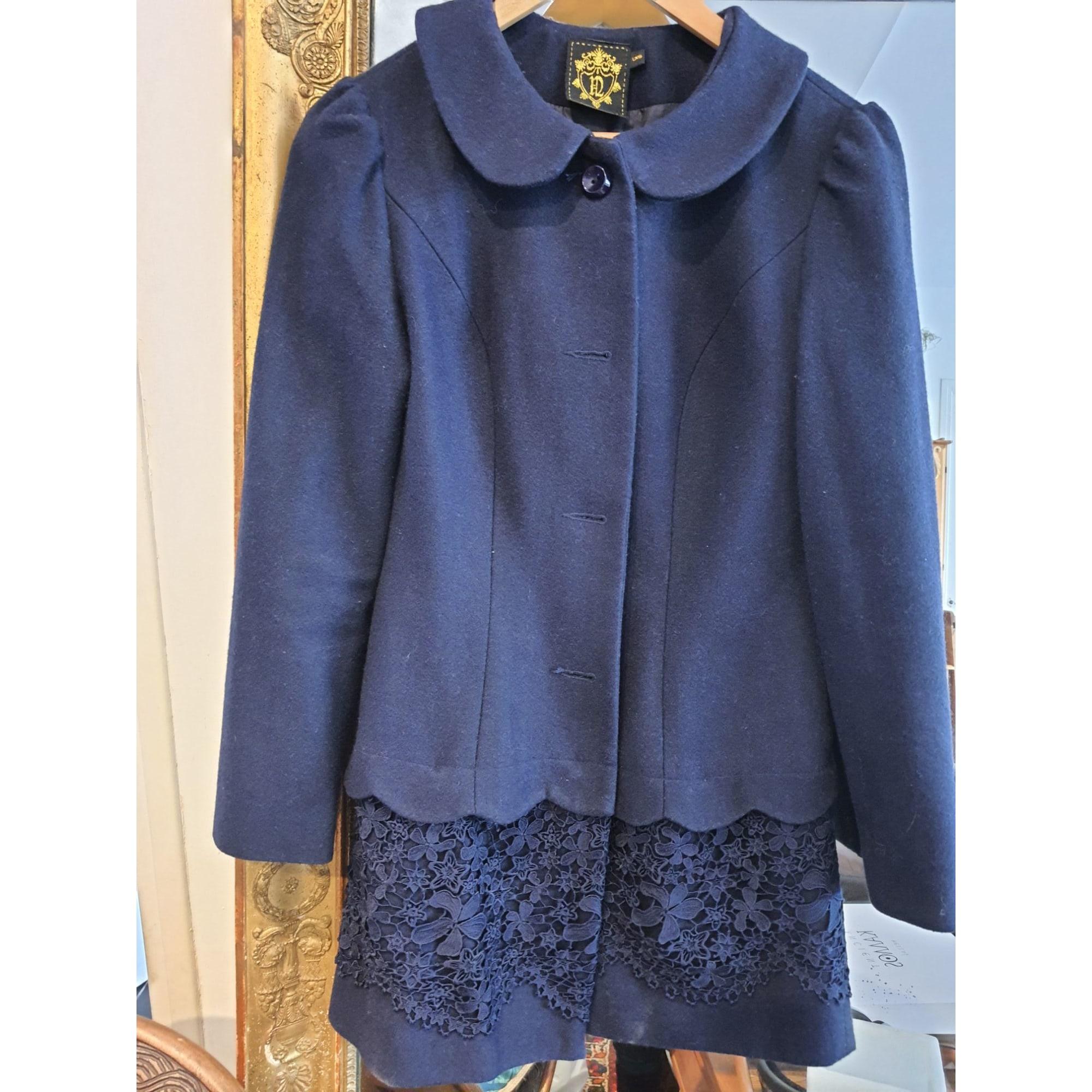 Manteau NISHE Bleu, bleu marine, bleu turquoise