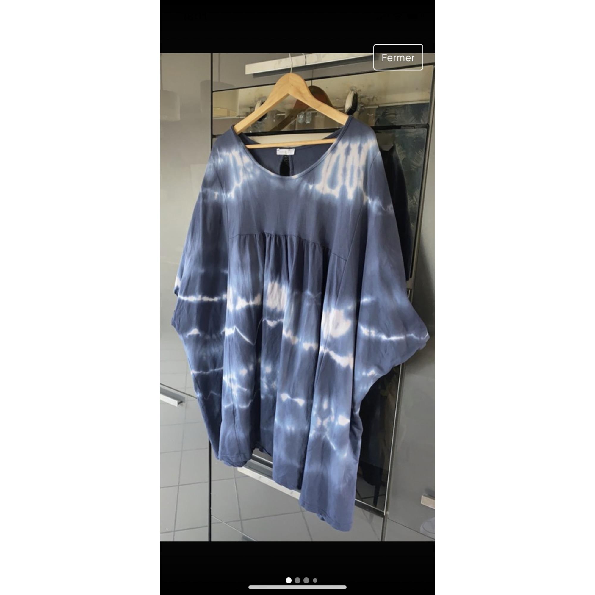Robe courte MADE IN ITALIE Bleu, bleu marine, bleu turquoise