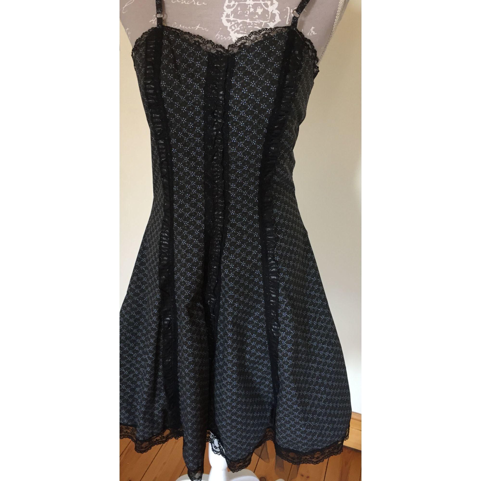 Robe courte DES FILLES A LA VANILLE Noir
