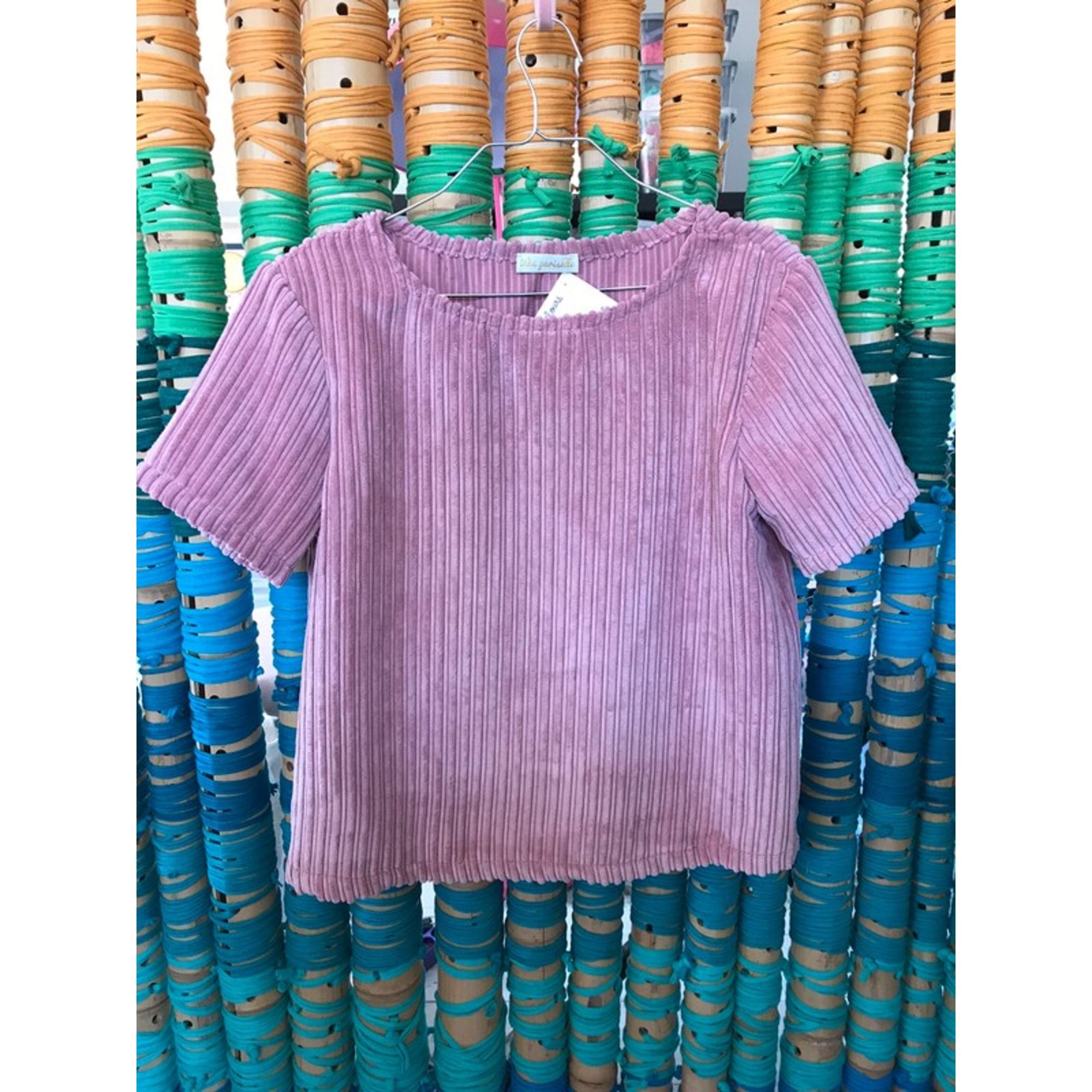 Top, tee-shirt BOUTIQUE INDÉPENDANTE Rose, fuschia, vieux rose