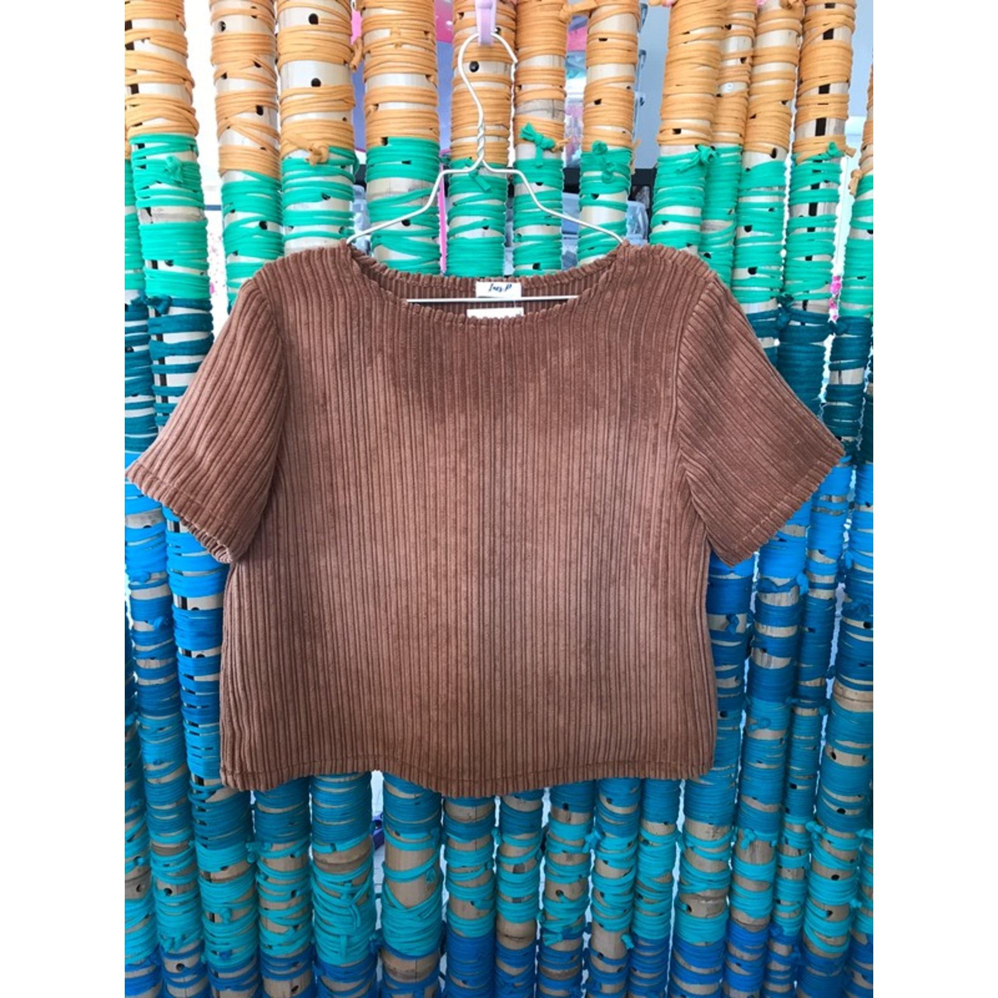Top, tee-shirt BOUTIQUE INDÉPENDANTE Beige, camel