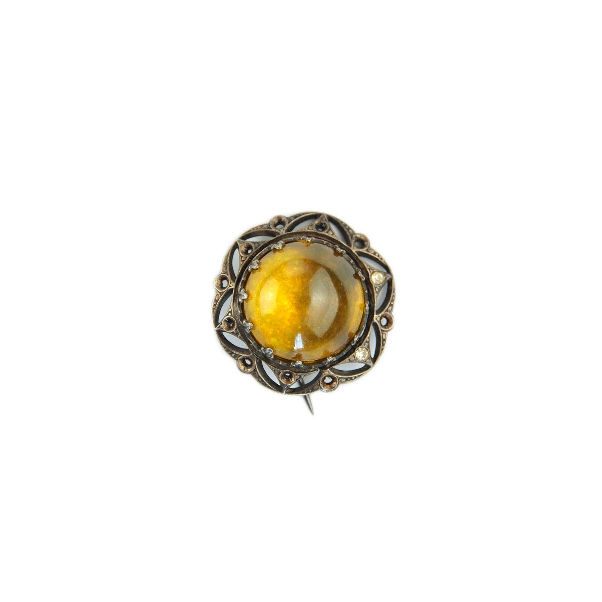 Broche 100% VINTAGE Doré, bronze, cuivre