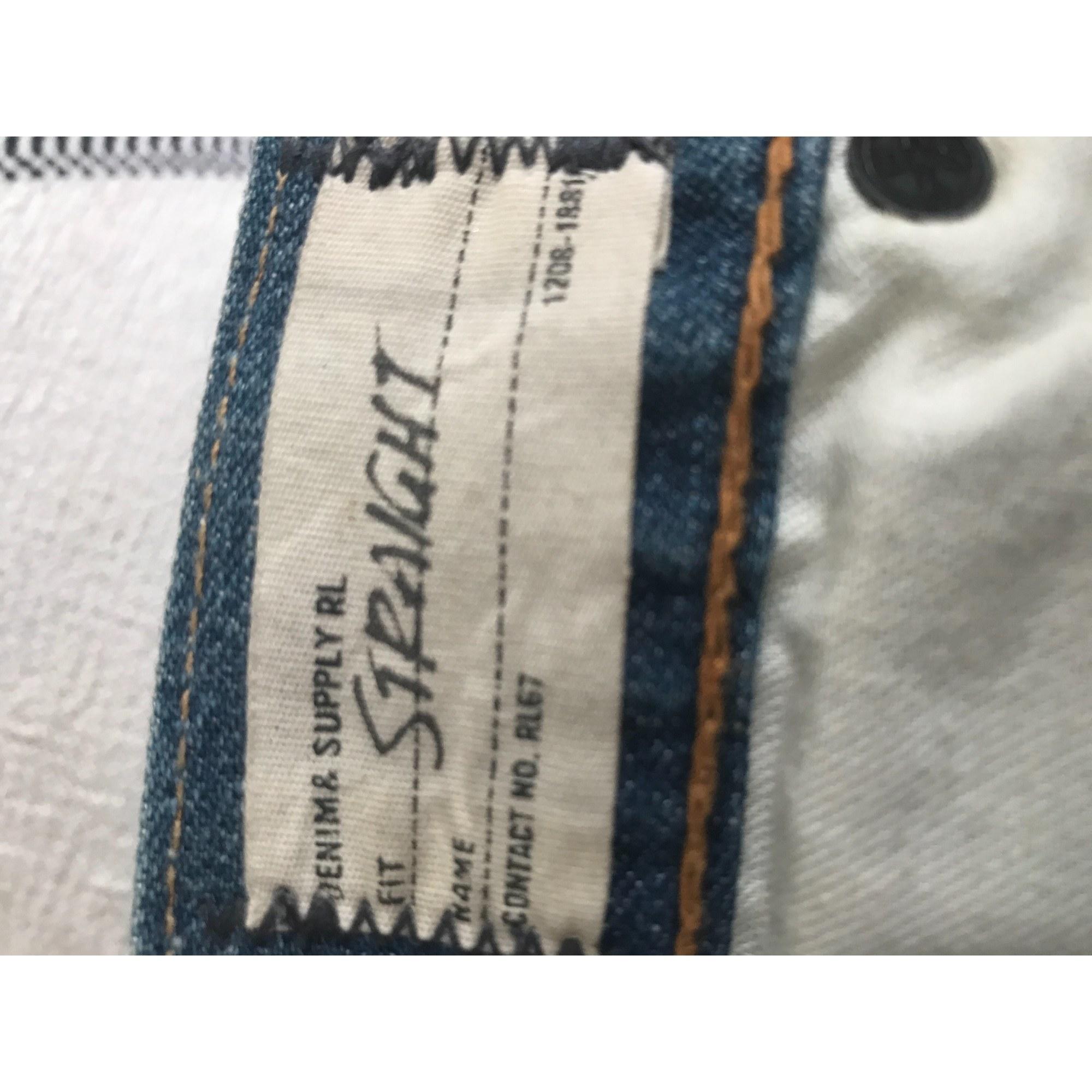Pantalon droit RALPH LAUREN Multicouleur