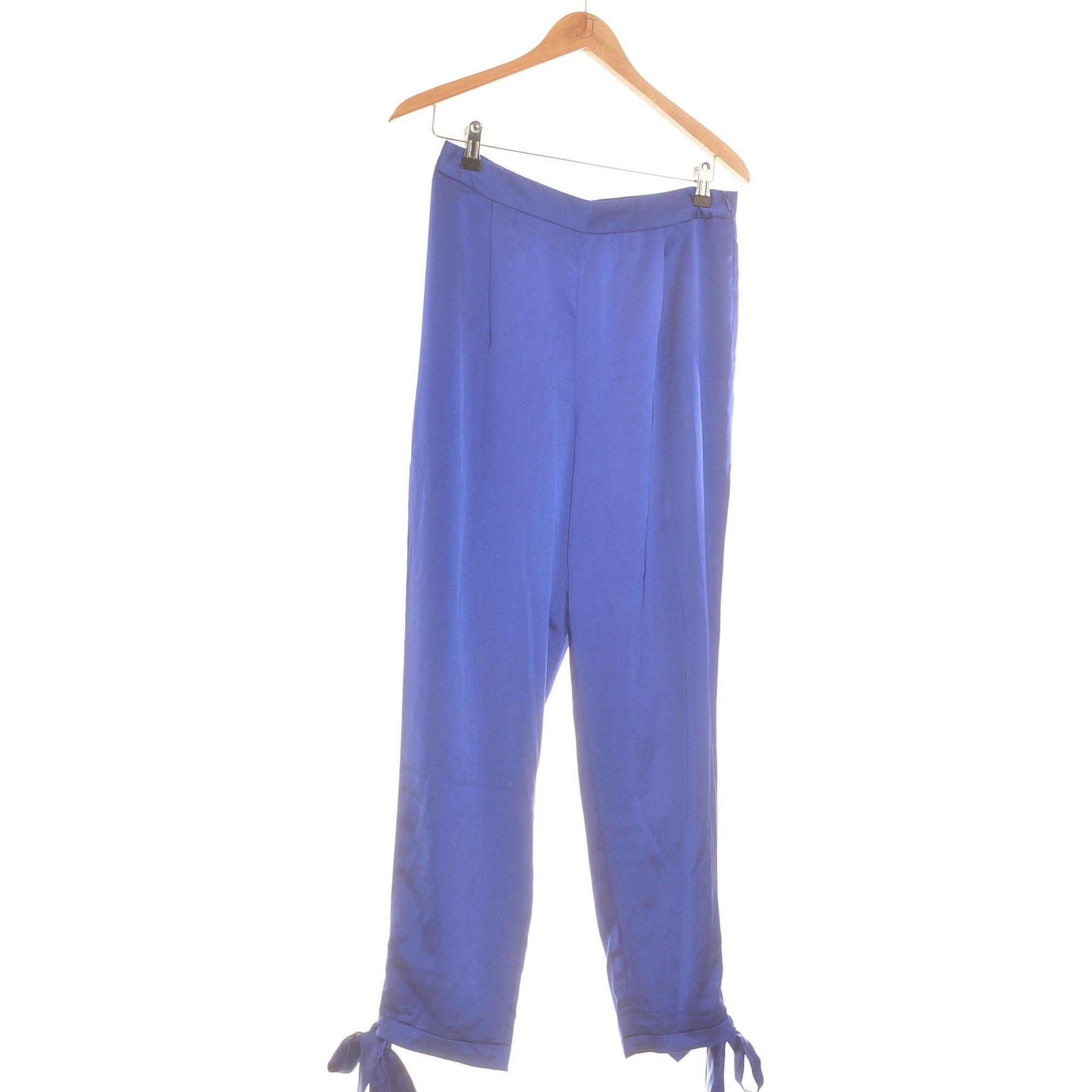 Pantalon droit MISSGUIDED Violet, mauve, lavande