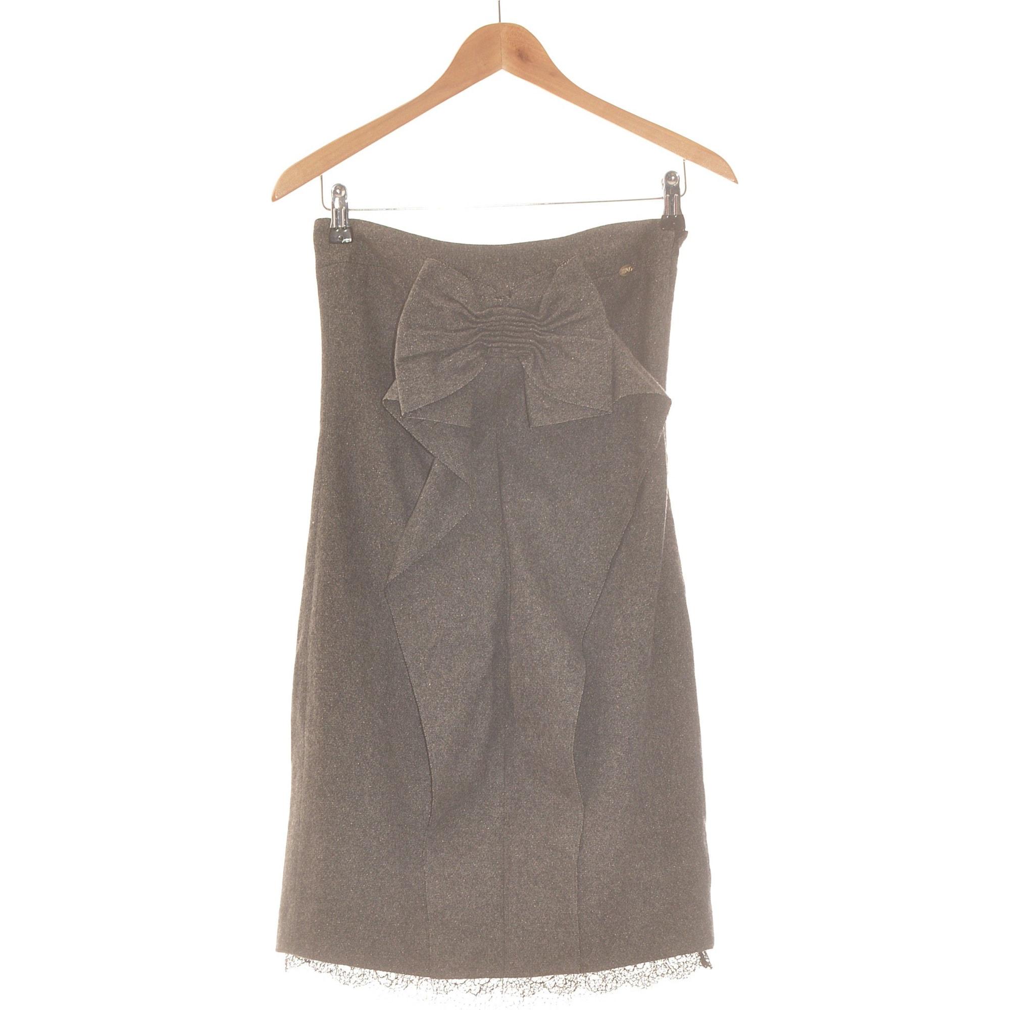 Robe courte LIU JO Gris, anthracite