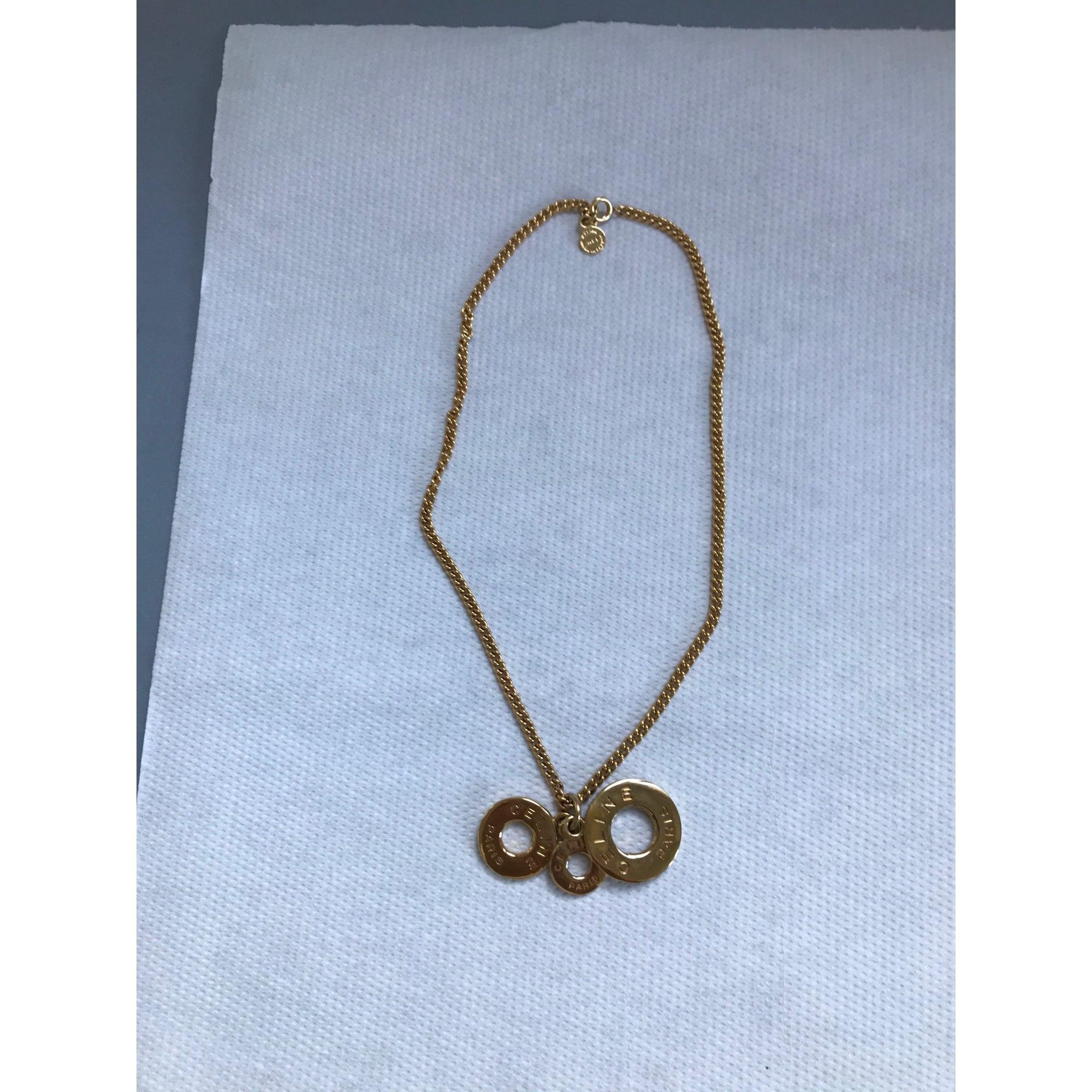 Pendentif, collier pendentif CÉLINE Doré, bronze, cuivre