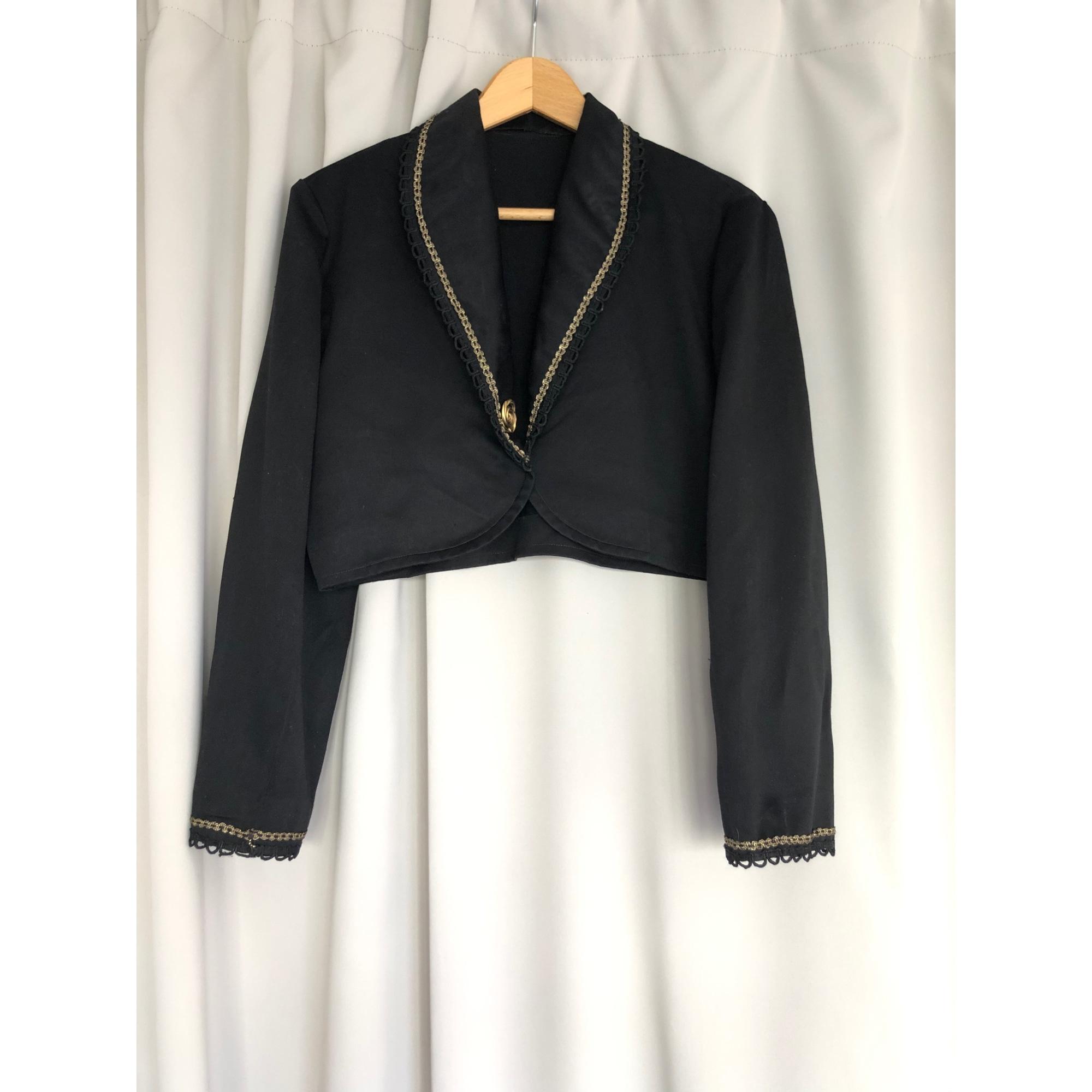 Blazer, veste tailleur VINTAGE Noir