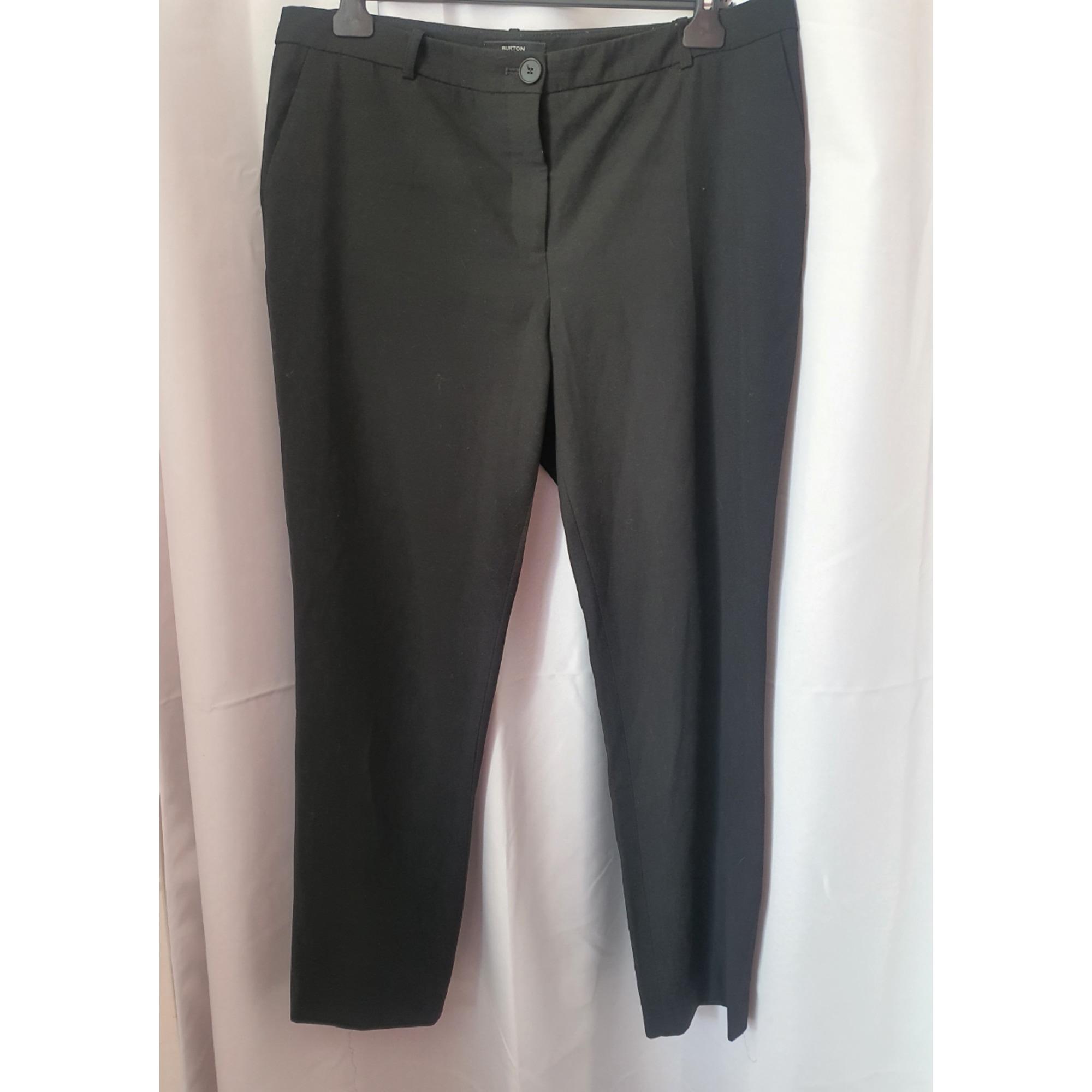 Pantalon droit BURTON Noir