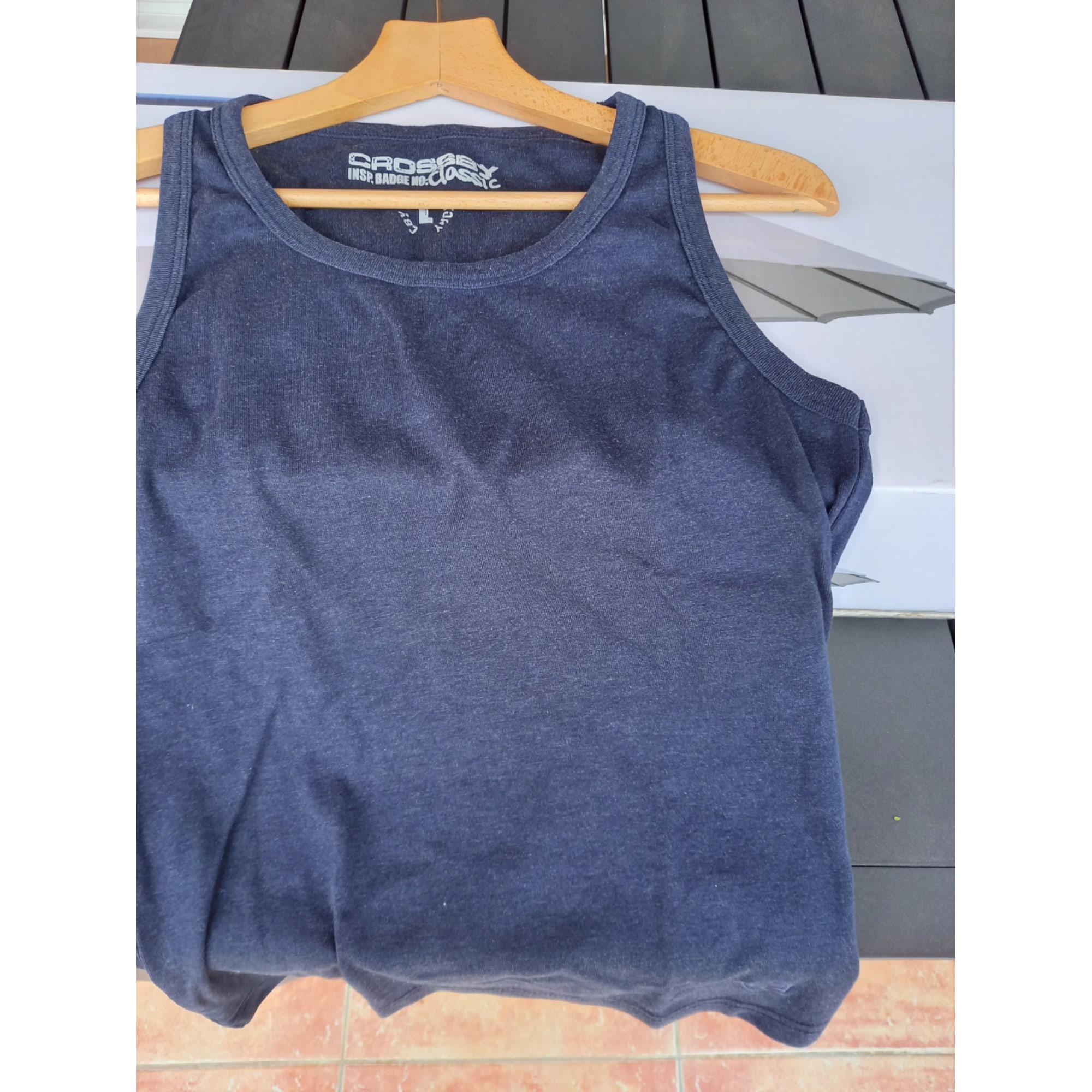 Tee-shirt CROSSBY Bleu, bleu marine, bleu turquoise
