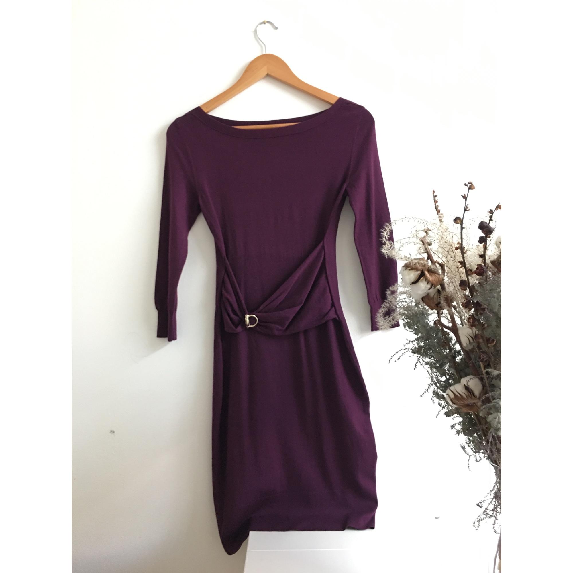 Robe mi-longue GUCCI Violet, mauve, lavande