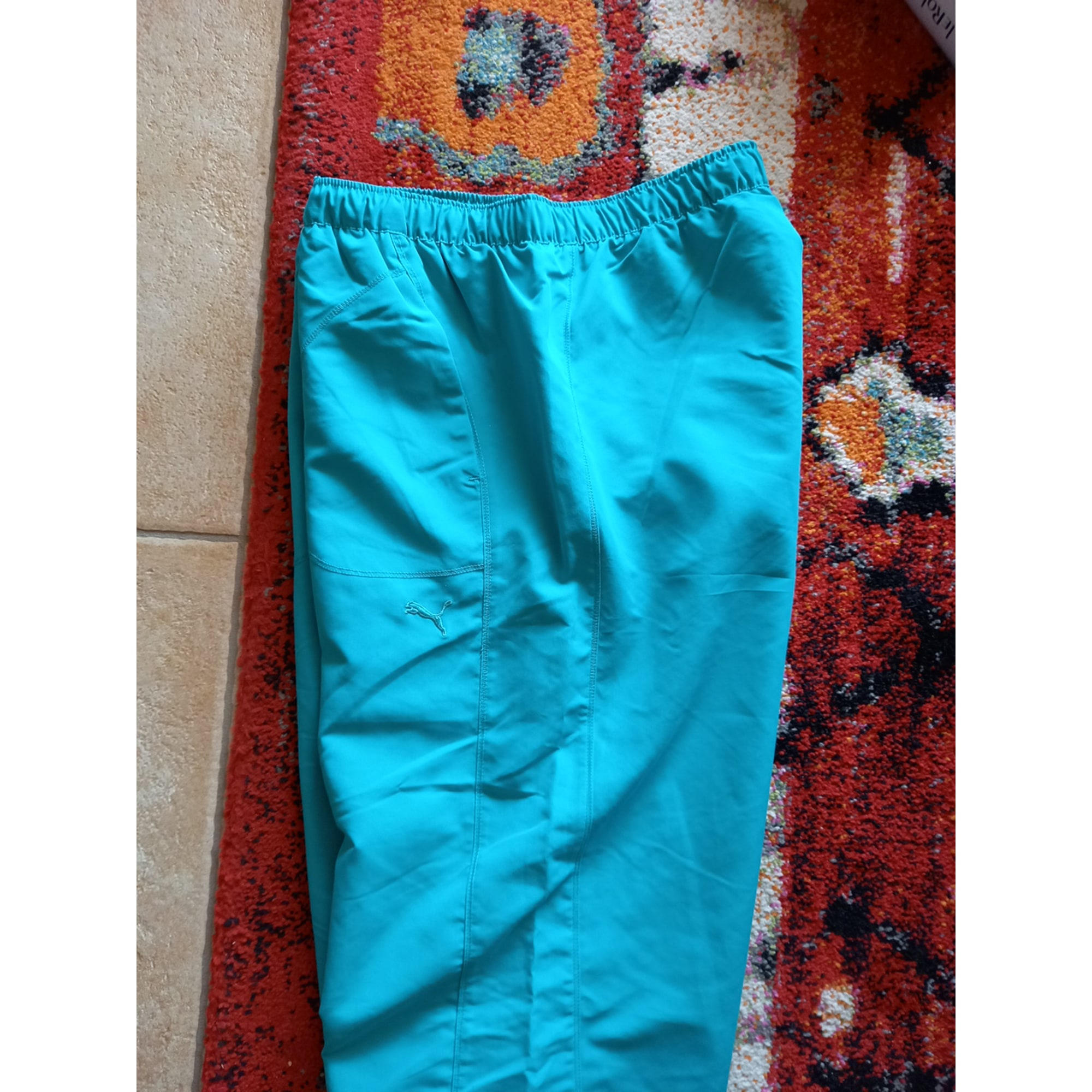 Pantalon de survêtement PUMA Vert