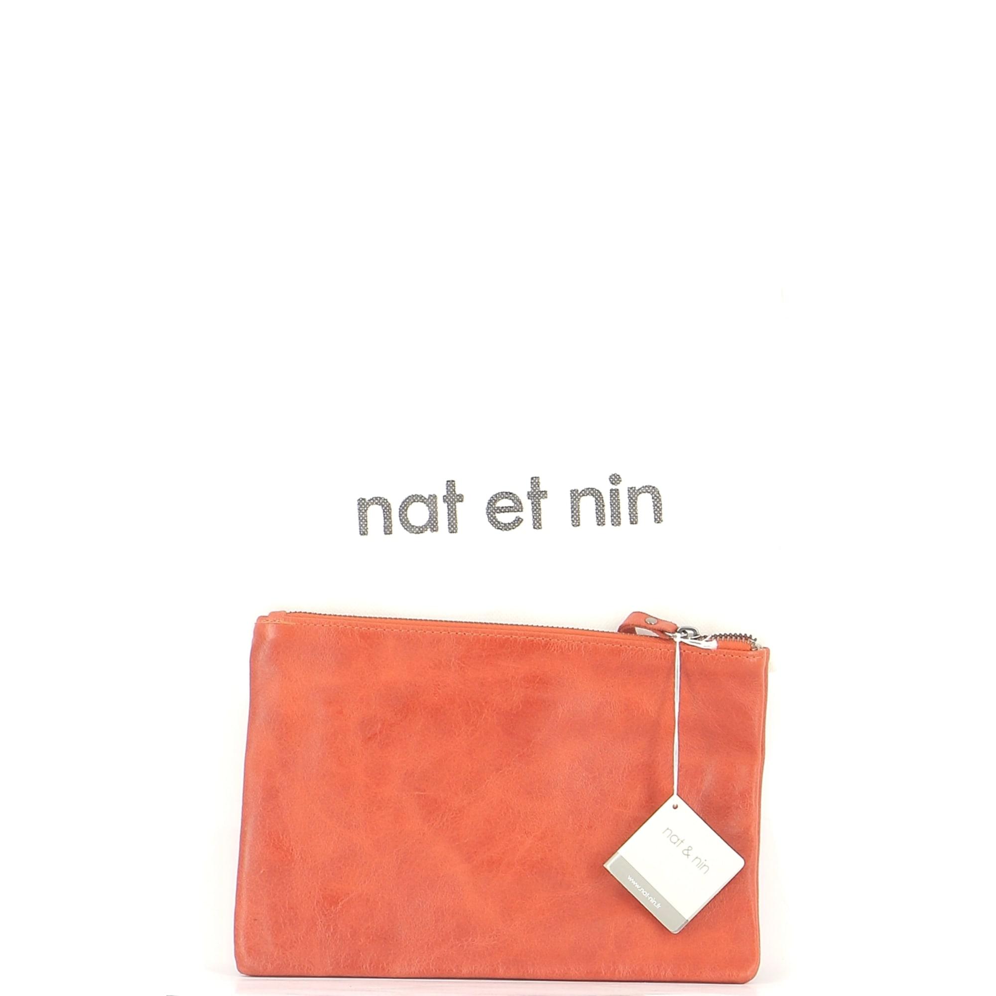 Pochette NAT & NIN Orange