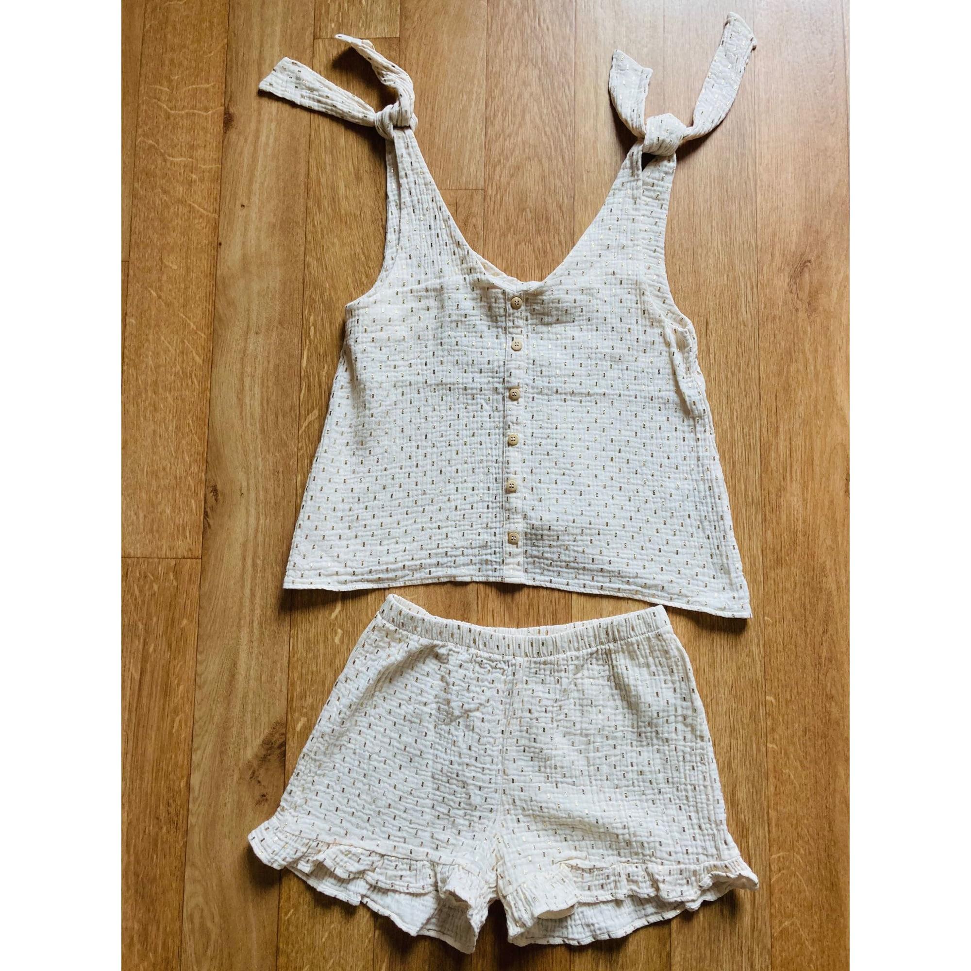 Pyjama ORTA STORE Blanc, blanc cassé, écru