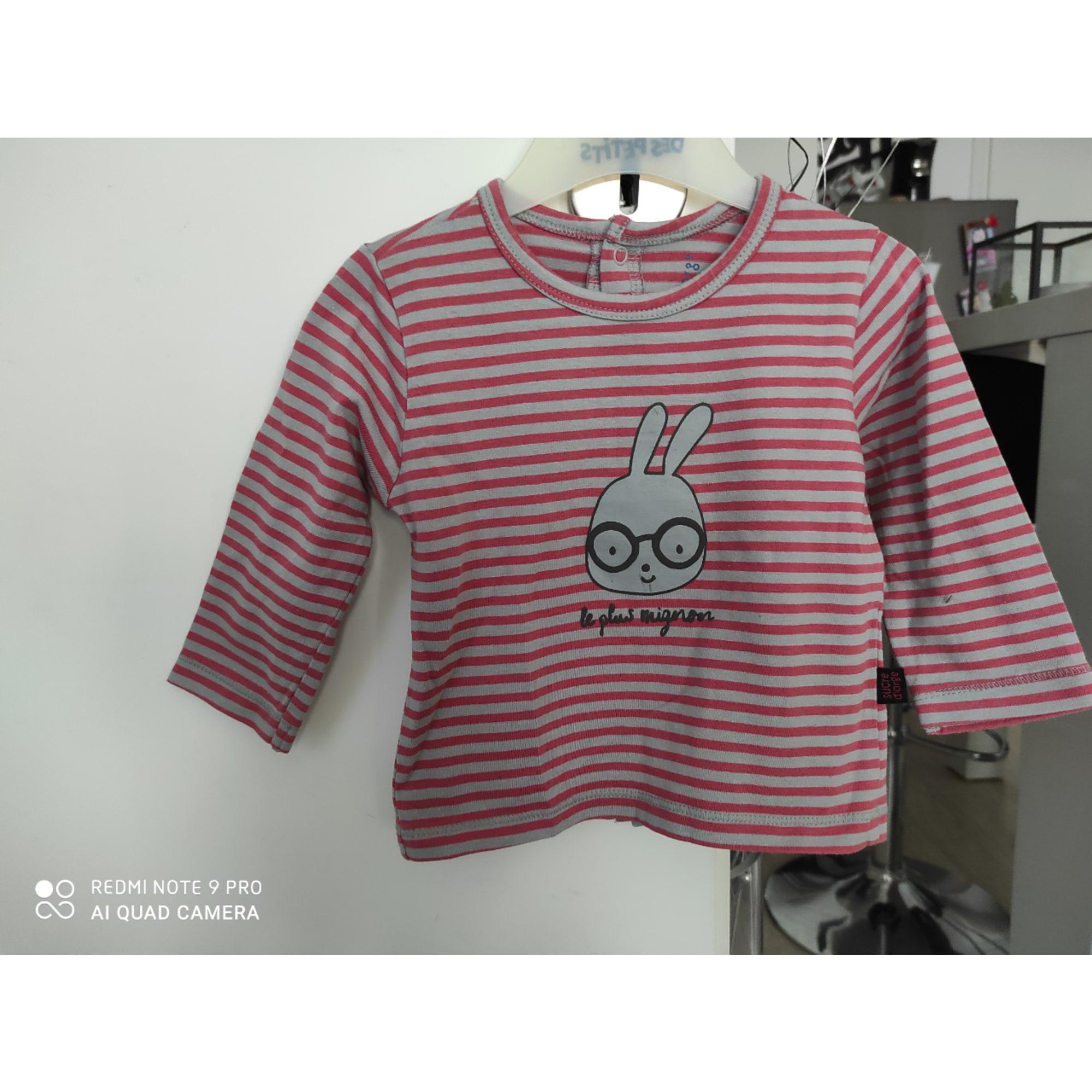 Top, tee shirt SUCRE D'ORGE Multicouleur
