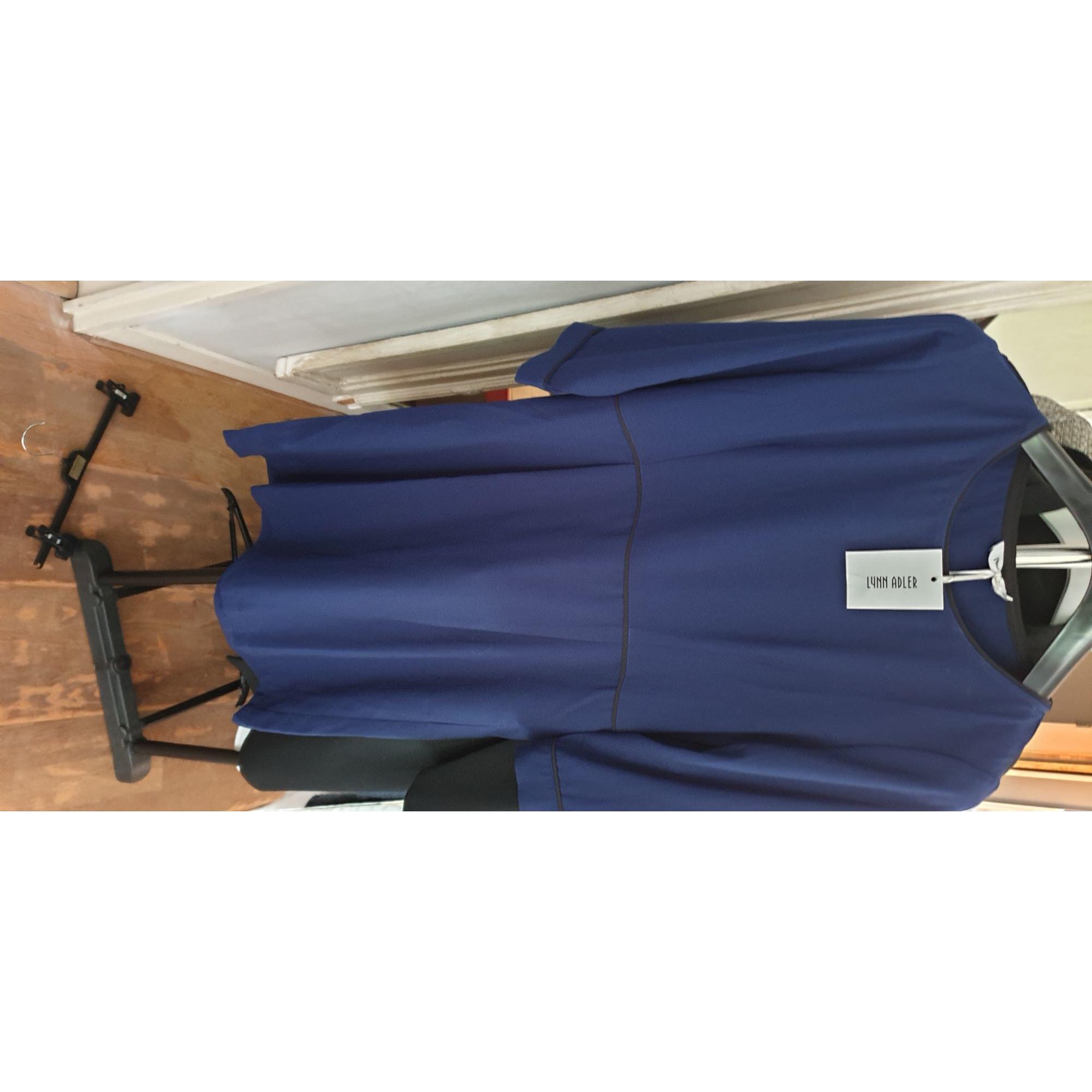 Robe courte LYNN ADLER Bleu, bleu marine, bleu turquoise