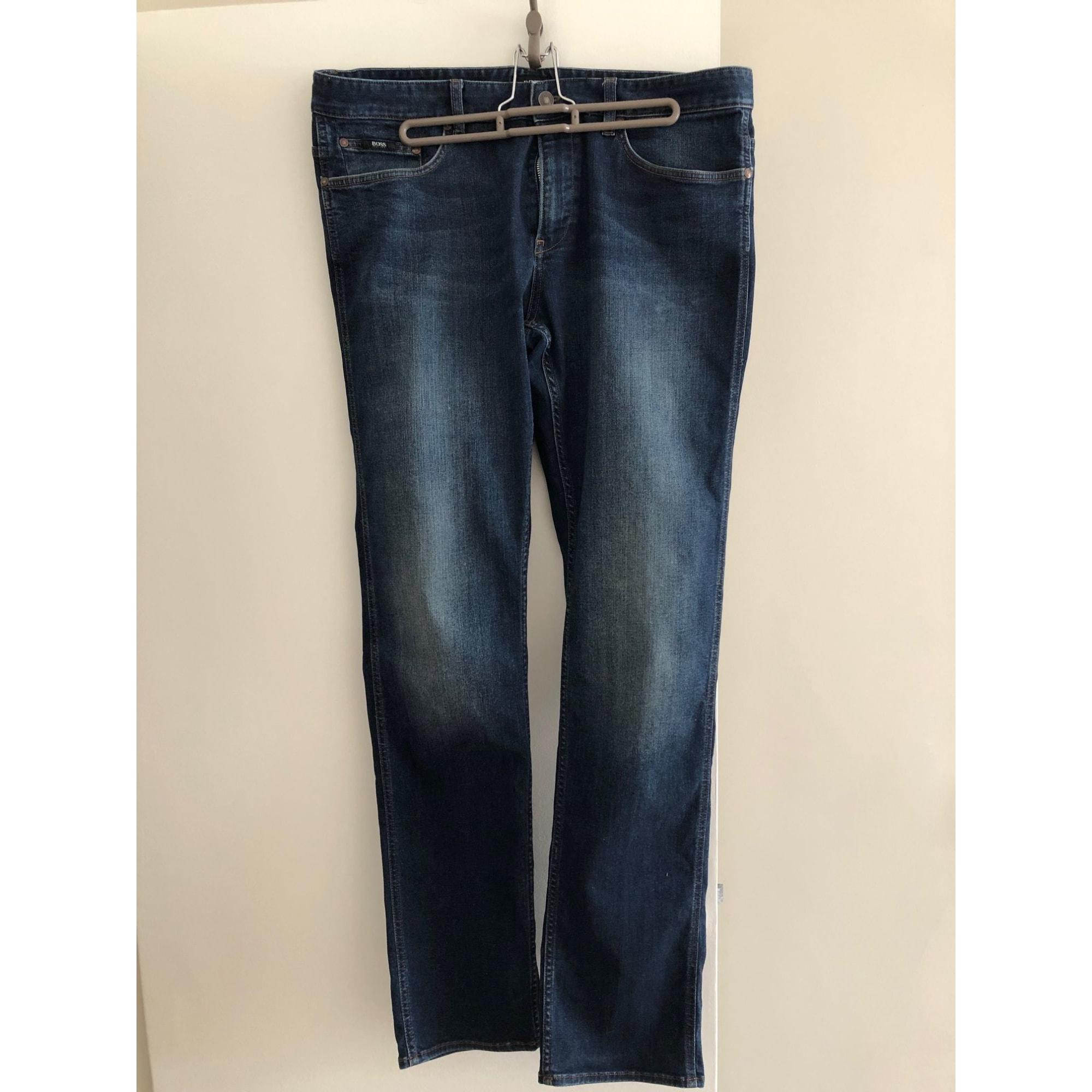 Straight Leg Jeans HUGO BOSS Blue, navy, turquoise
