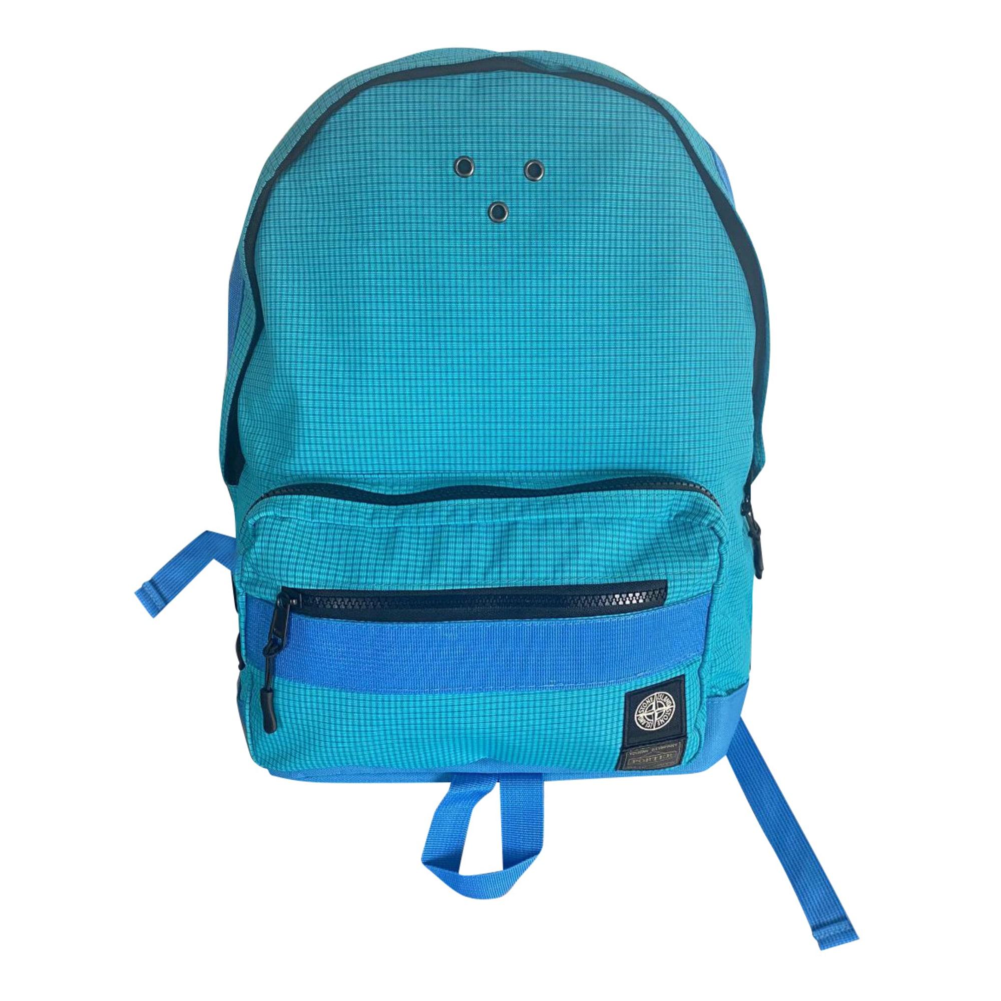 Backpack STONE ISLAND Blue, navy, turquoise