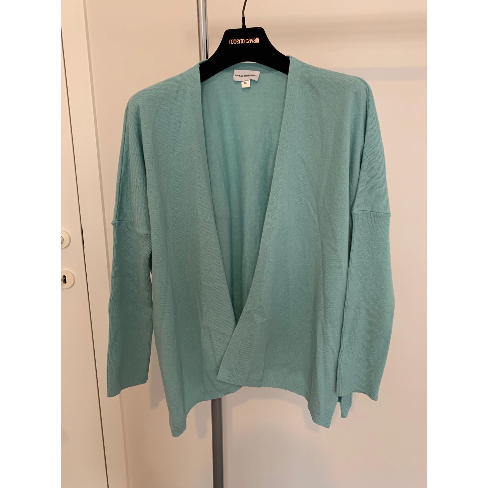 Gilet, cardigan NO CONCEPT Bleu, bleu marine, bleu turquoise