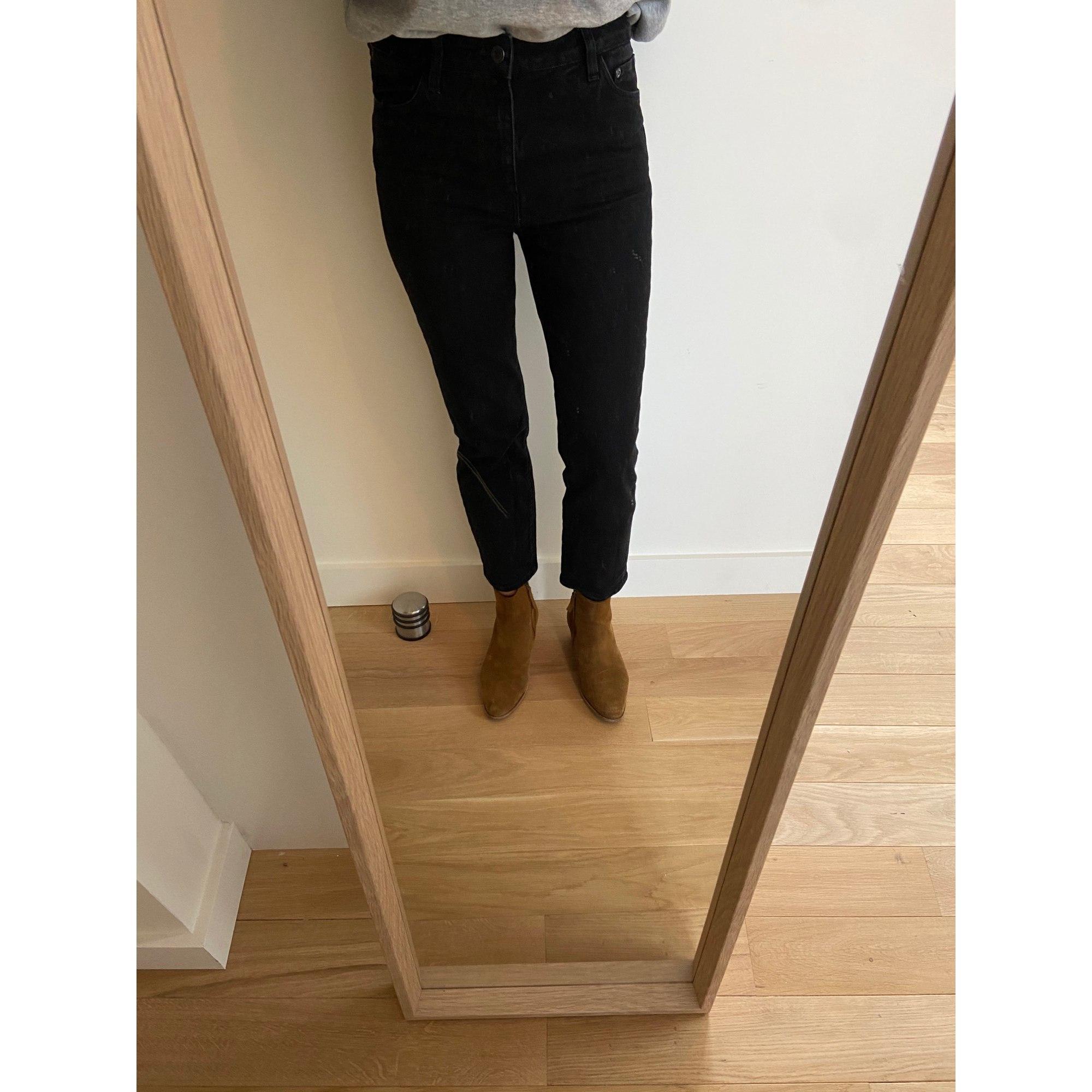 Jeans évasé, boot-cut COMPTOIR DES COTONNIERS Noir
