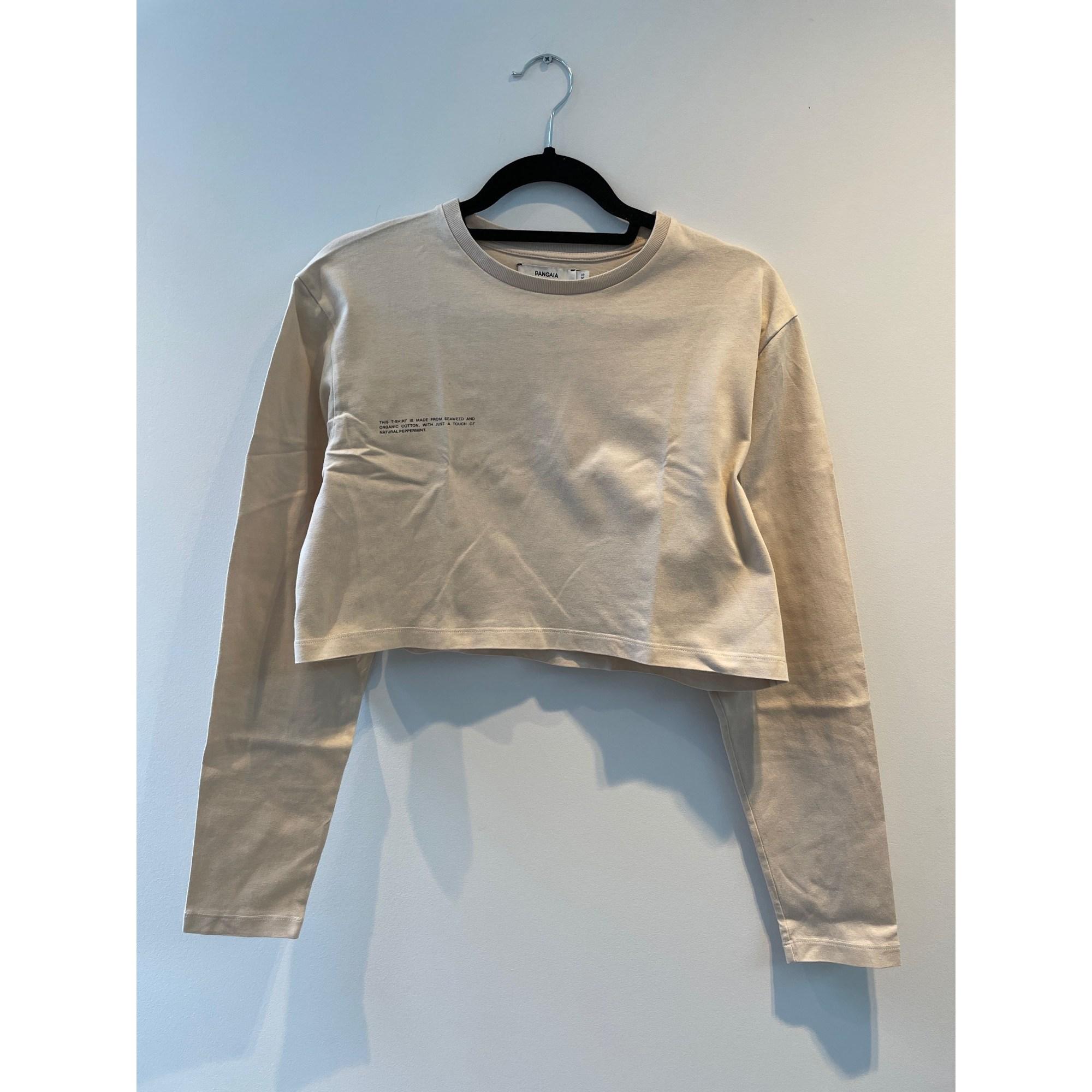 Top, tee-shirt PANGAIA Beige, camel