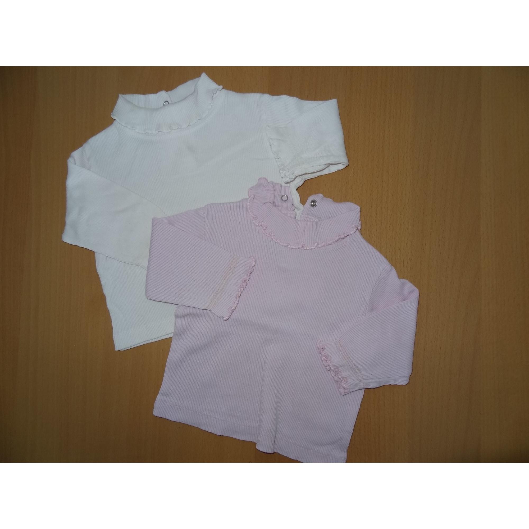 Top, tee shirt TOUT COMPTE FAIT Blanc, blanc cassé, écru