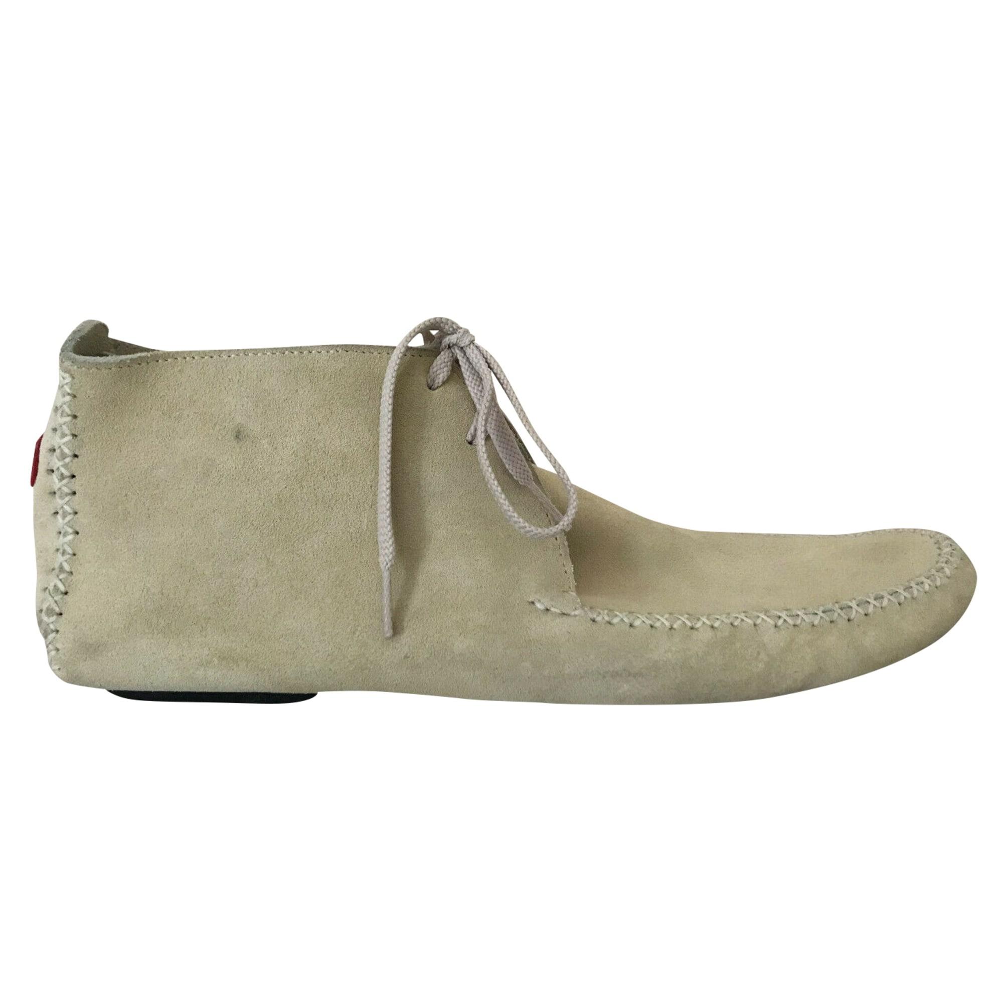 Chaussures à lacets GÉRARD SÉNÉ Beige, camel