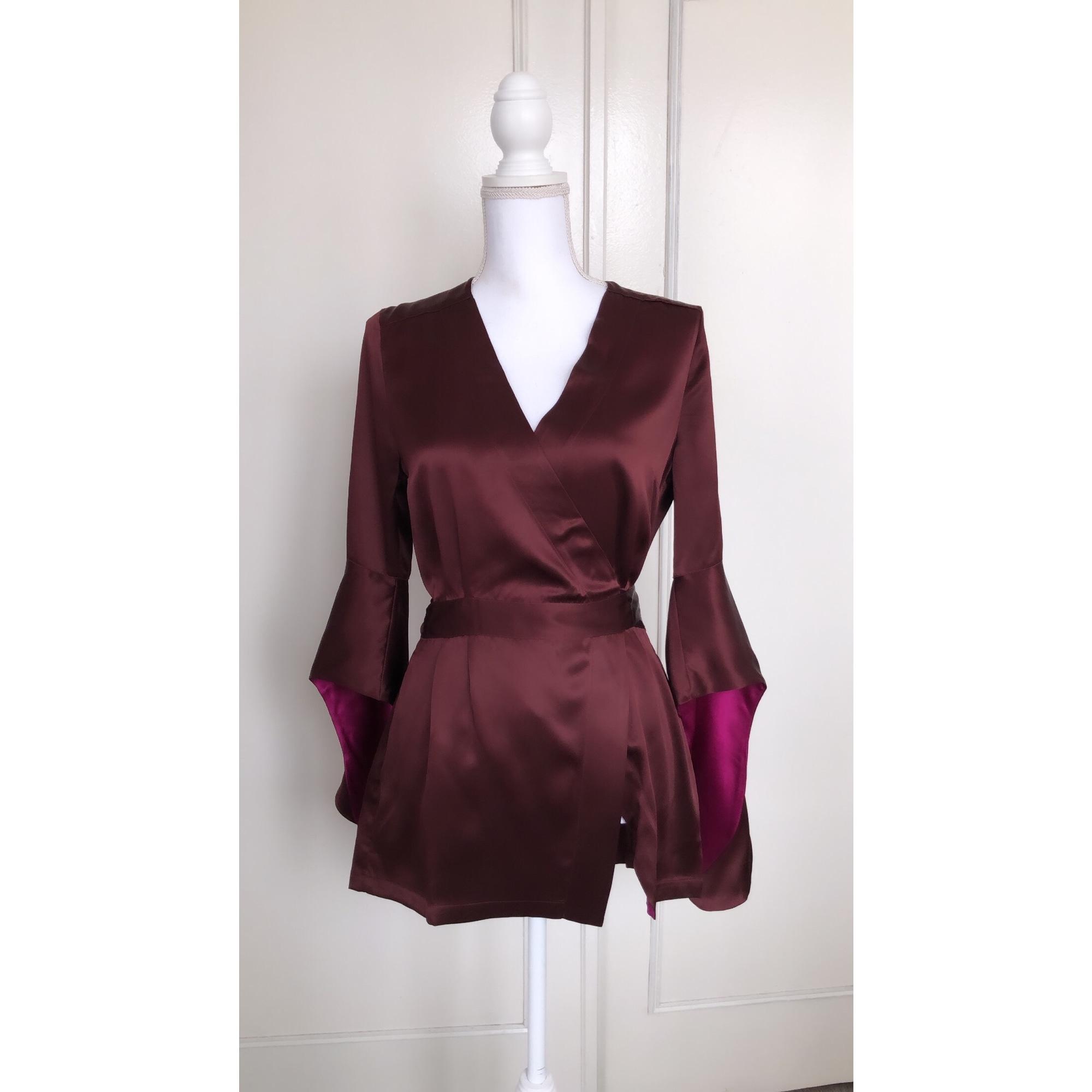 Robe de chambre MARJOLAINE Violet, mauve, lavande
