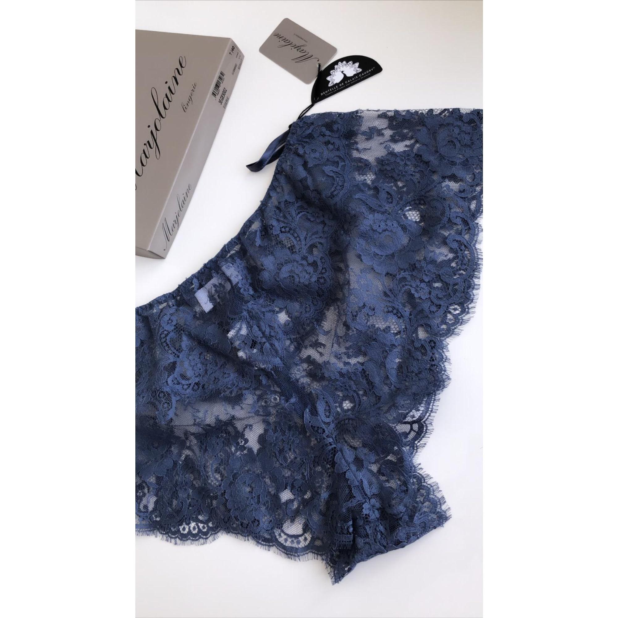 Short MARJOLAINE Bleu, bleu marine, bleu turquoise