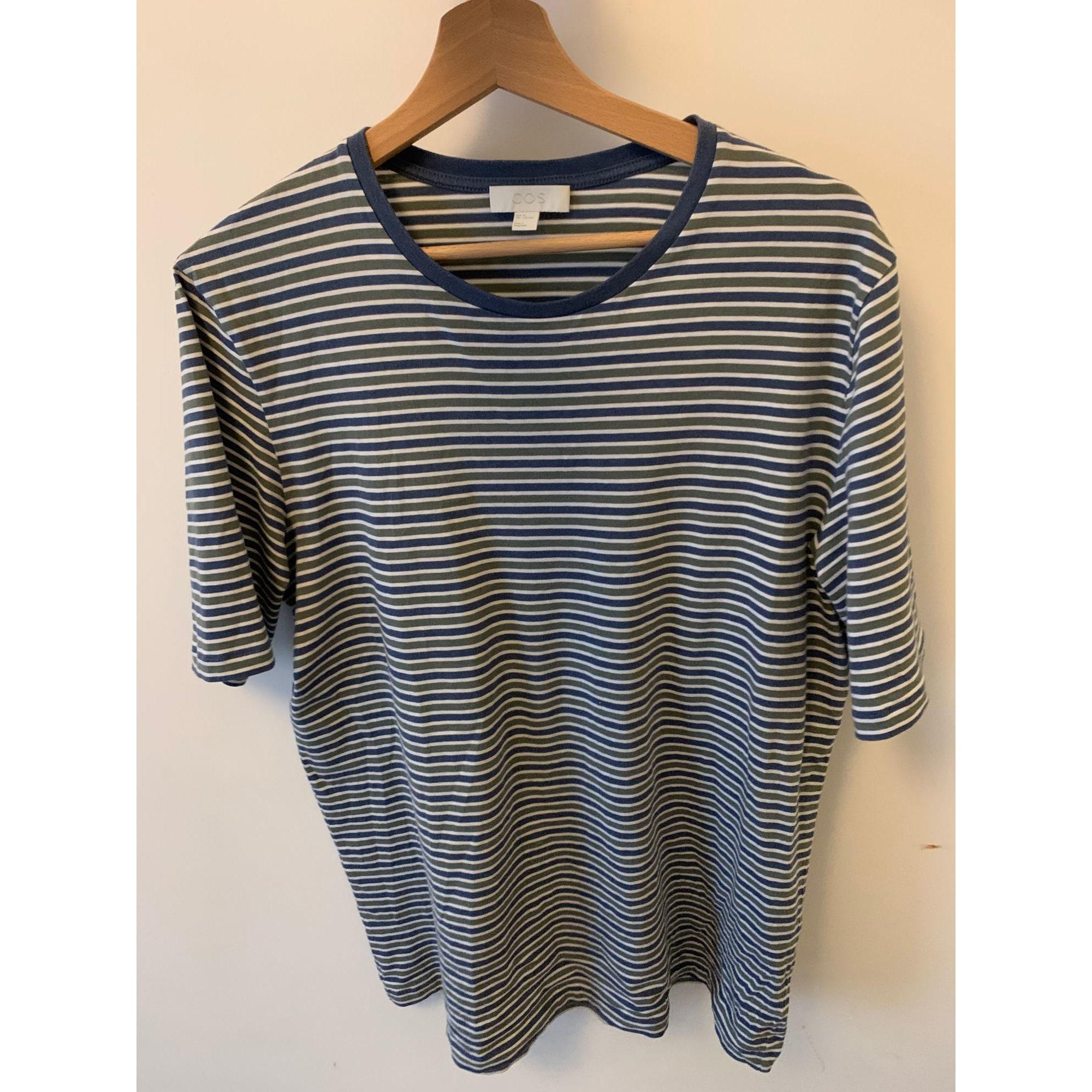 Tee-shirt COS Bleu, bleu marine, bleu turquoise