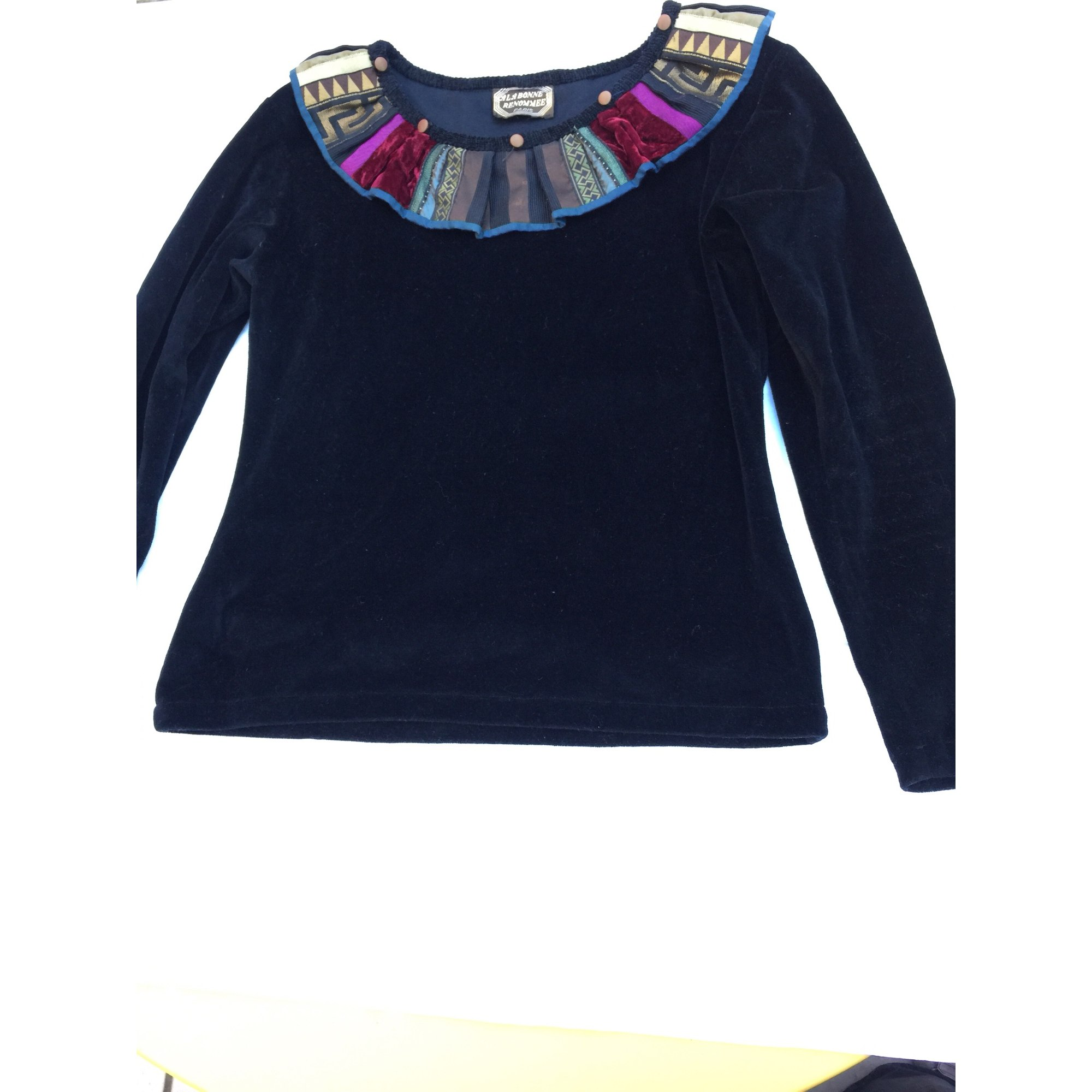 Top, tee-shirt A LA BONNE RENOMMÉE Noir