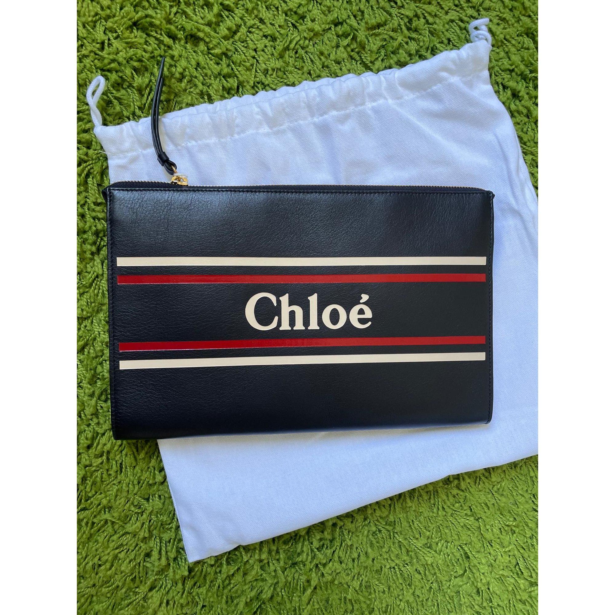 Pochette CHLOÉ Bleu, bleu marine, bleu turquoise