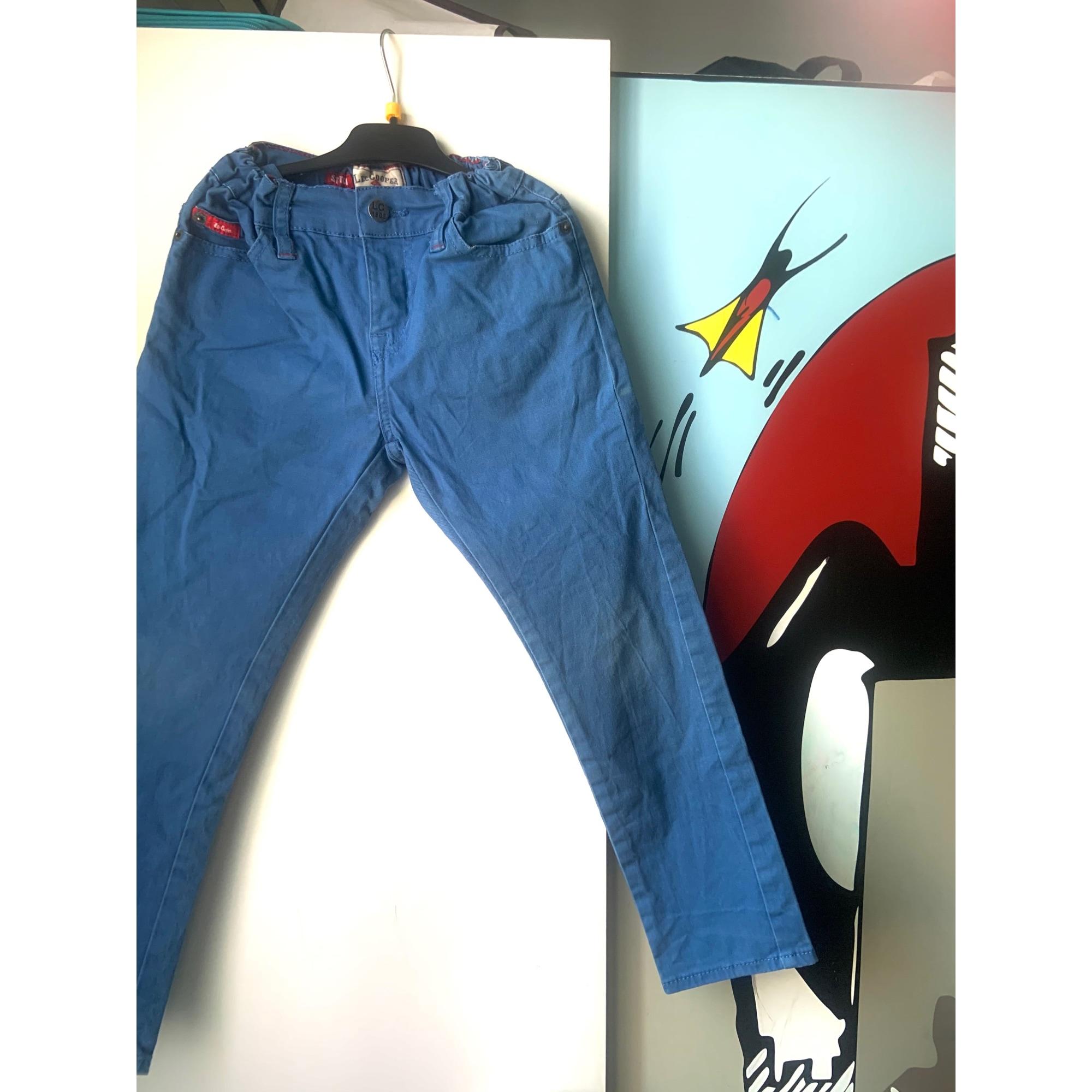 Jeans droit LEE COOPER Bleu, bleu marine, bleu turquoise