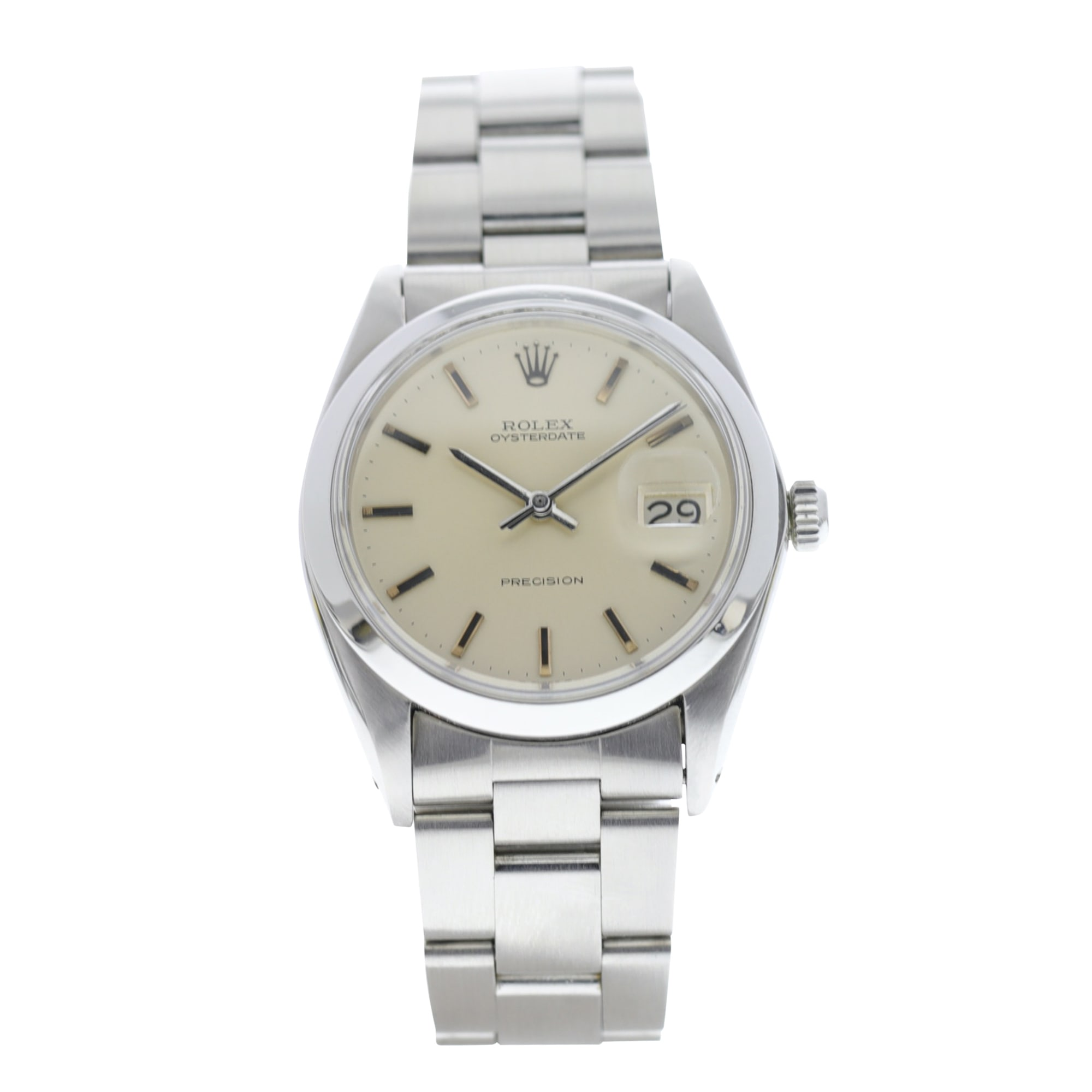 Wrist Watch ROLEX OYSTER PERPETUAL Silver