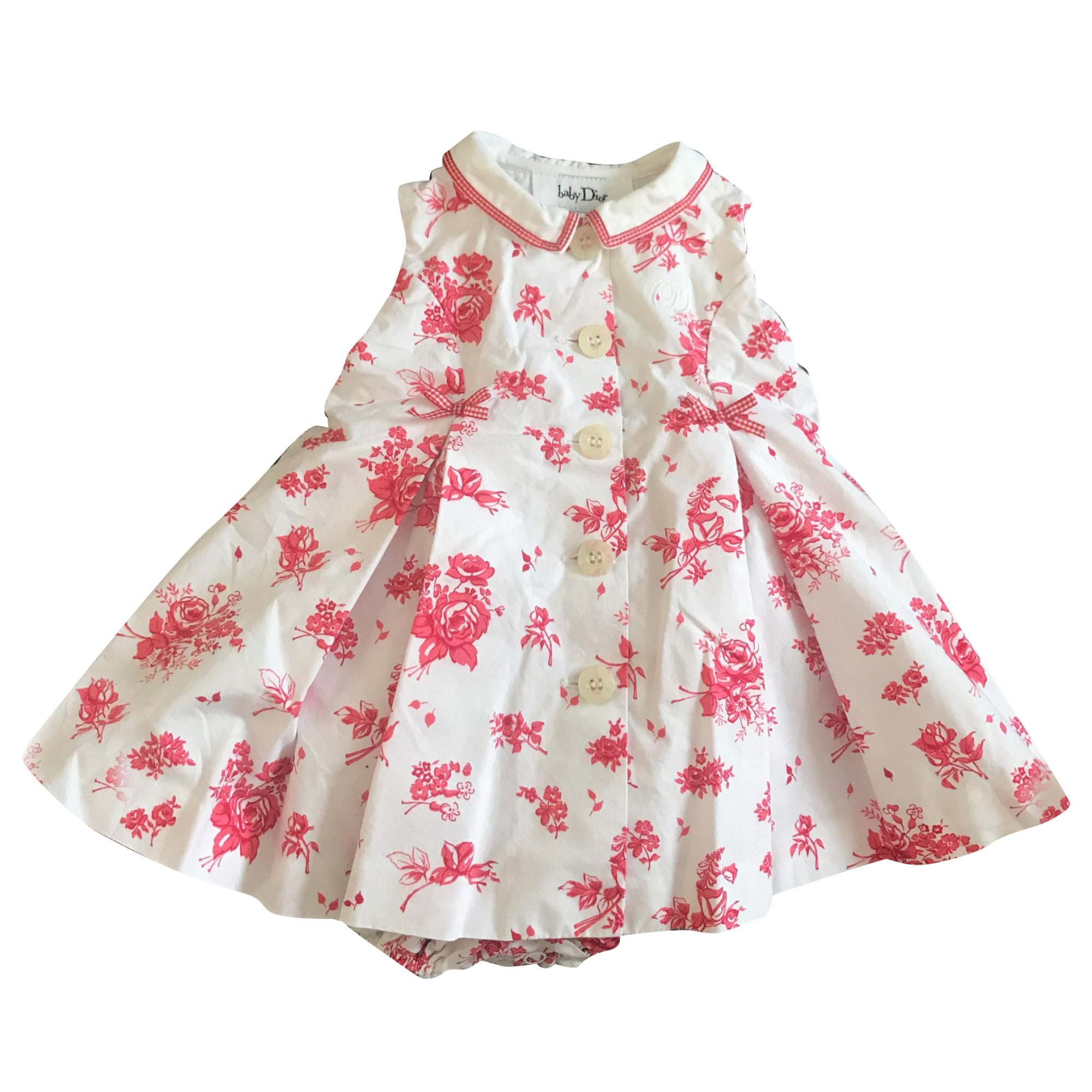 Kleid BABY DIOR Rot, bordeauxrot