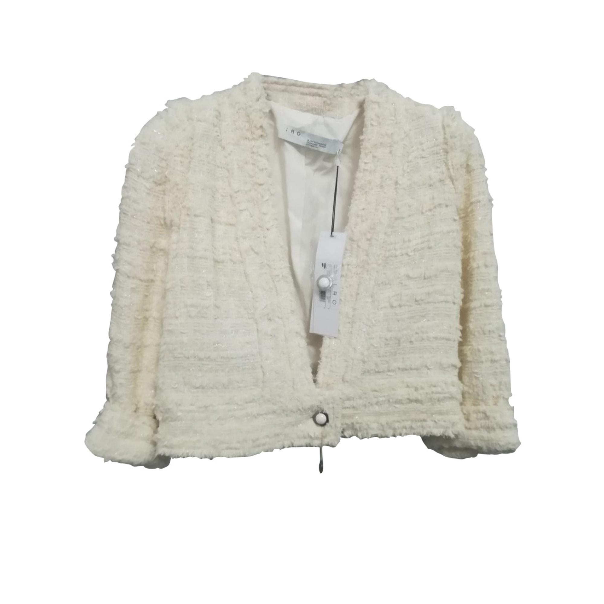 Jacket IRO White, off-white, ecru