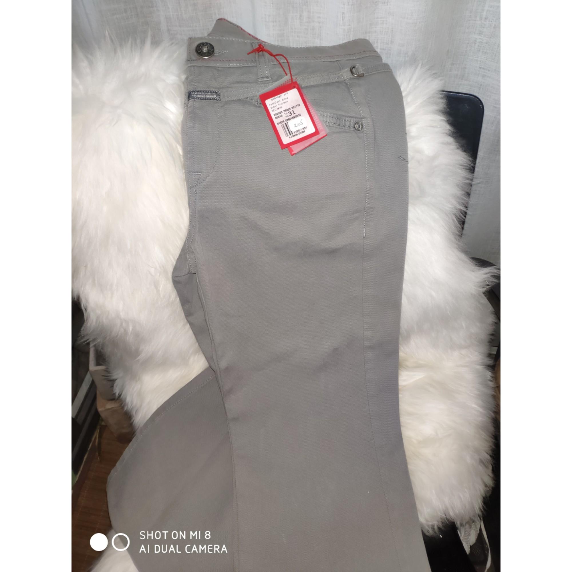 Jeans évasé, boot-cut MARITHÉ ET FRANÇOIS GIRBAUD Gris, anthracite
